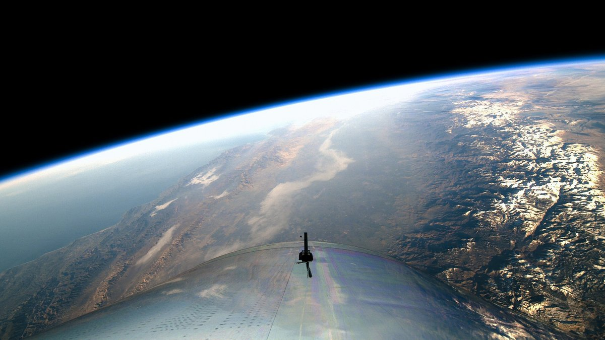 VSS Unity in space.