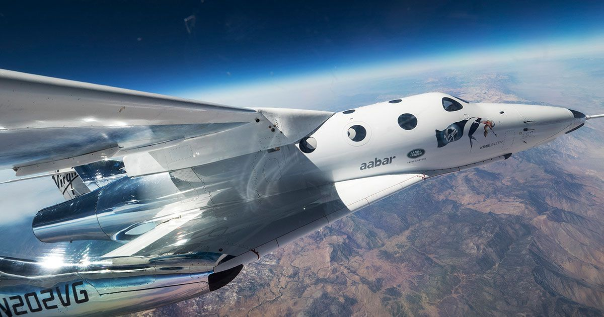 Virgin Galactic's SpaceShipTwo Aiming for the Edge of Space