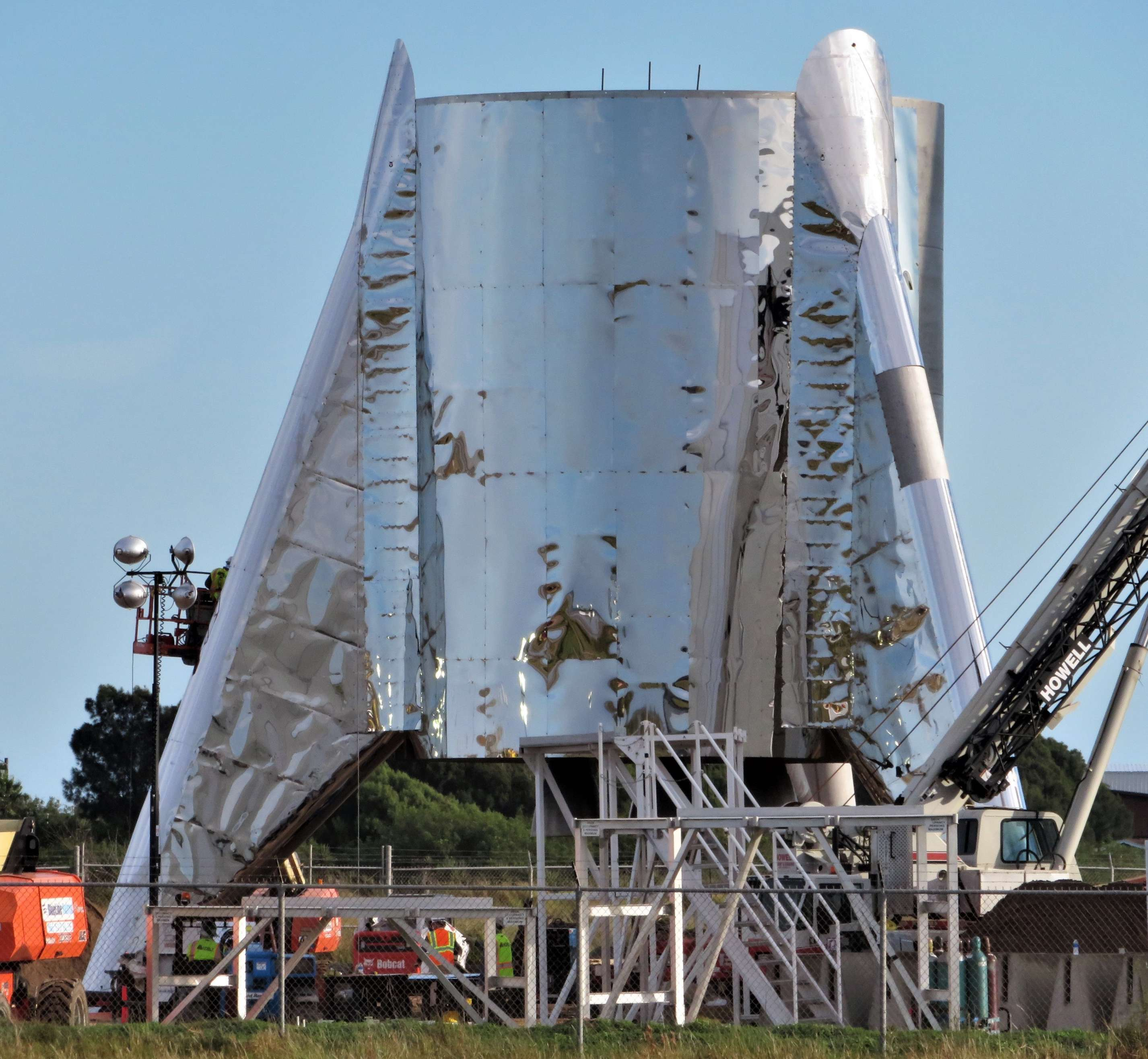Boca Chica Starship Alpha progress 010618 (NSF – bocachicagal) 2 square(c)