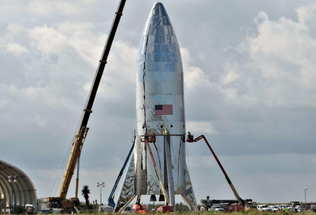 Boca Chica Starship Alpha Progress 010818 Nsf