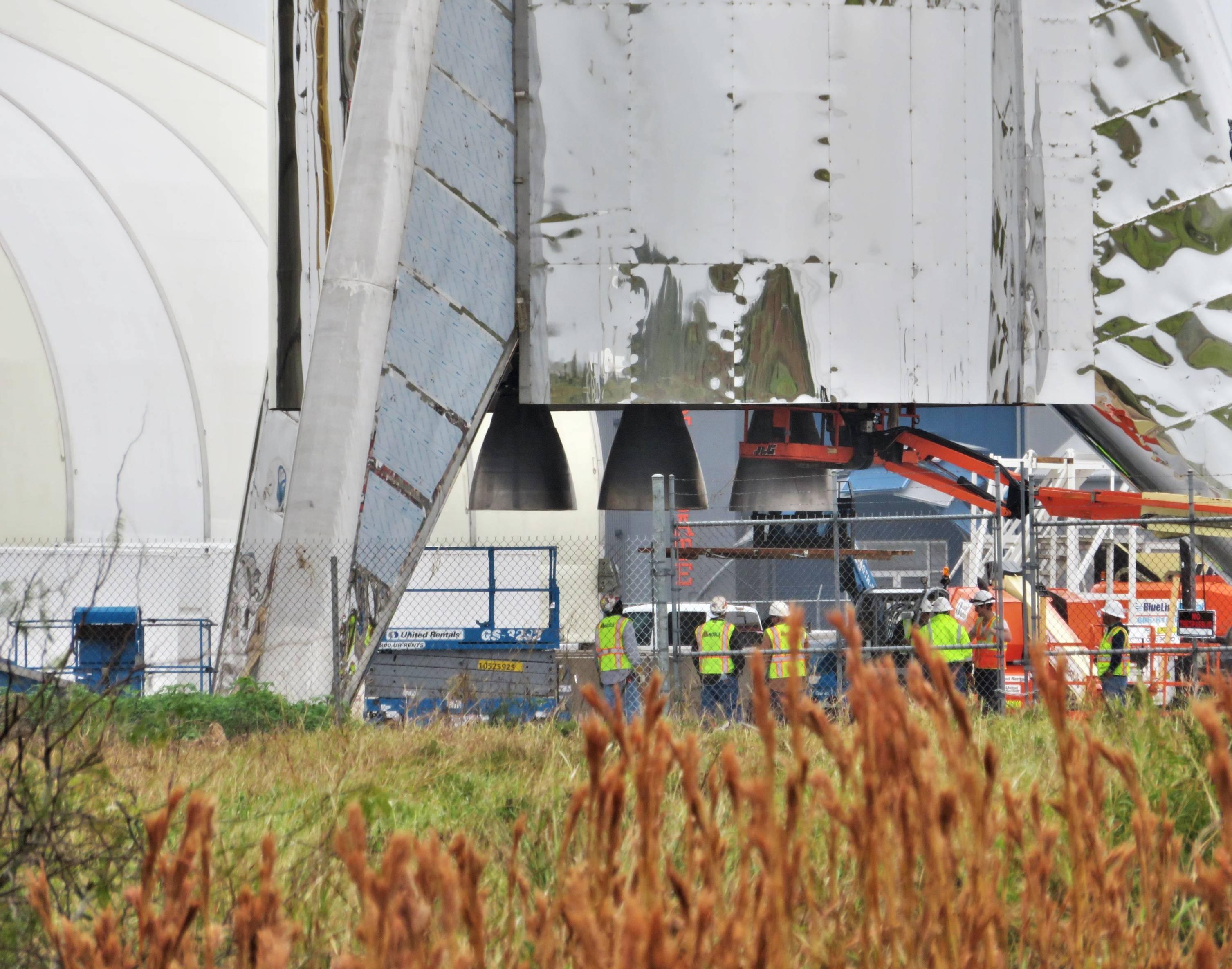 Boca Chica Starship Raptor removal 011519 (NSF – bocachicagal) 1(c)