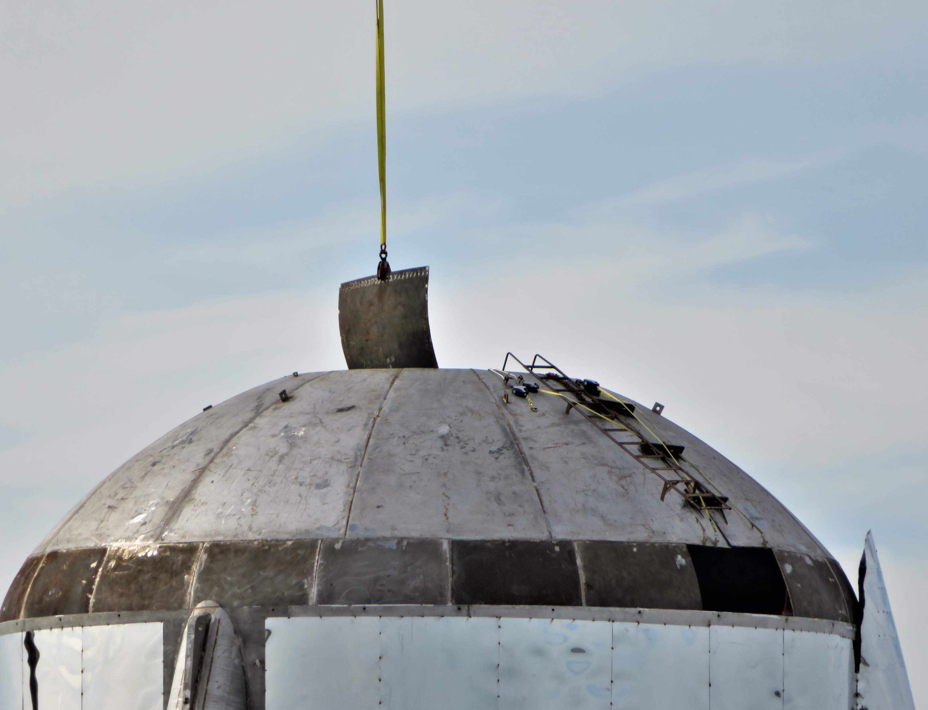 Boca Chica Starship dome work 012519 (NASASpaceflight – bocachicagal) 3 (c)