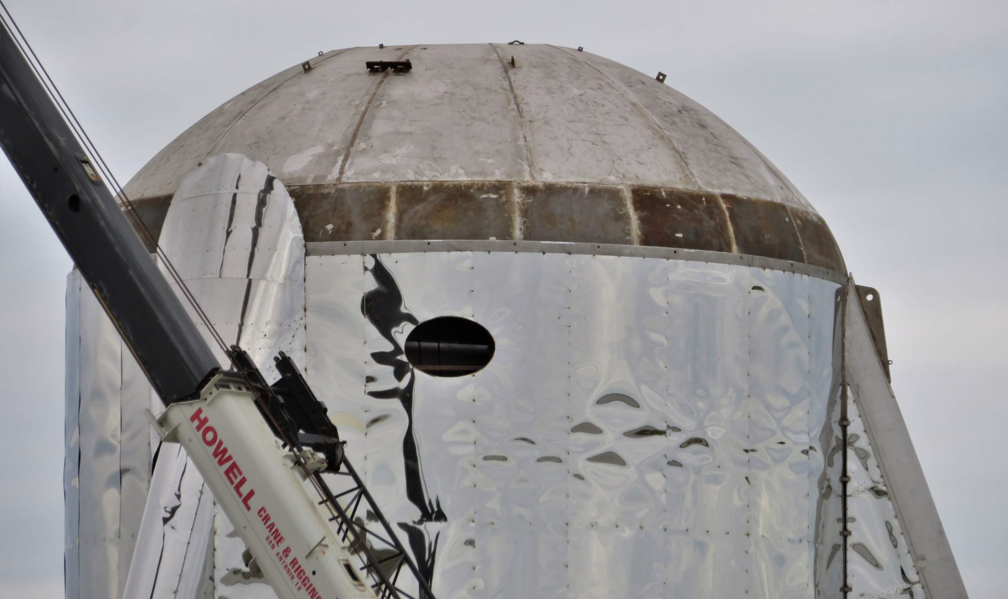 Boca Chica Starship dome work 012519 (NASASpaceflight – bocachicagal) 5 (c)