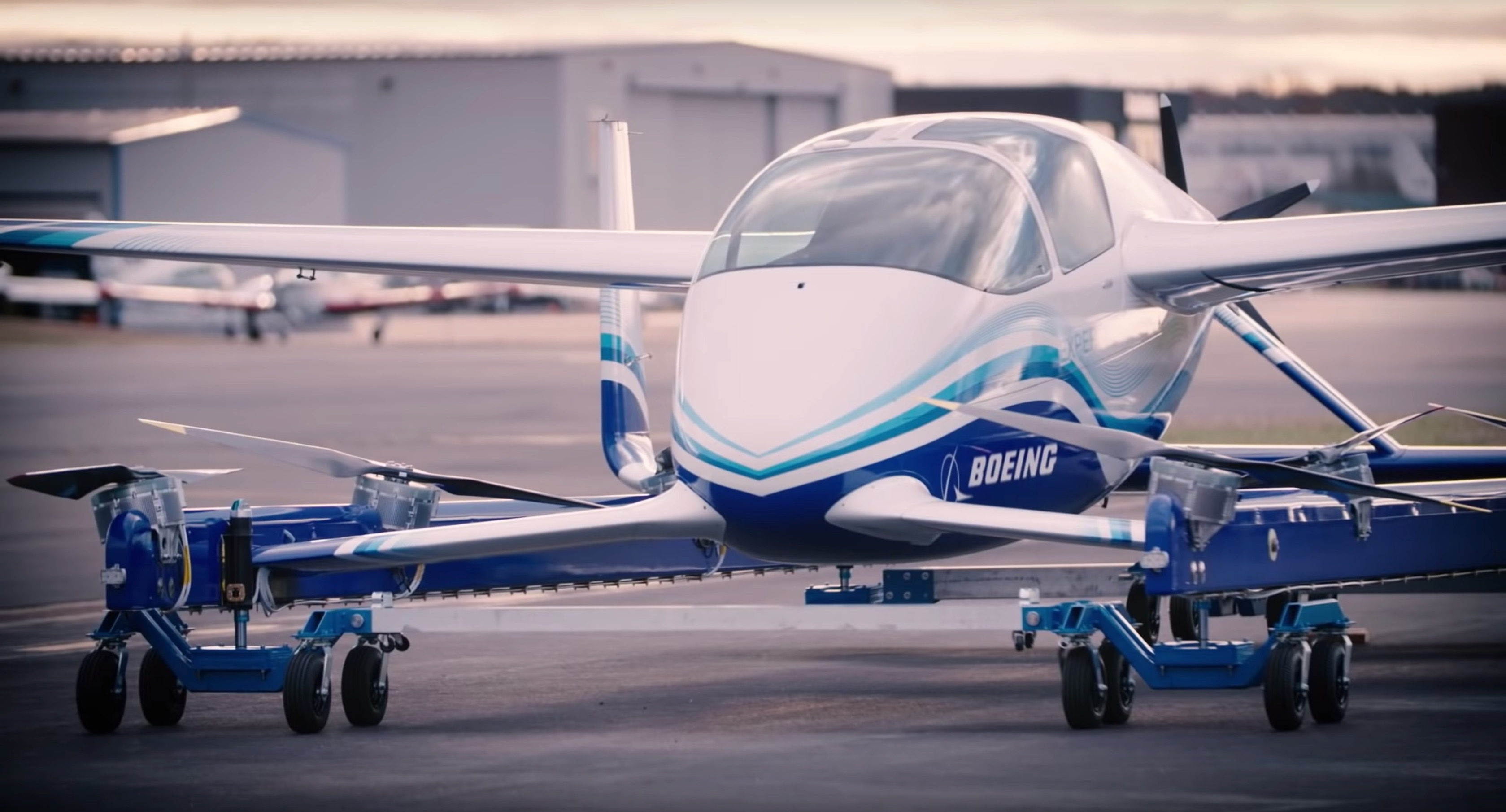 Boeing Completes First Test Flight For Electric Penger Craft Prototype