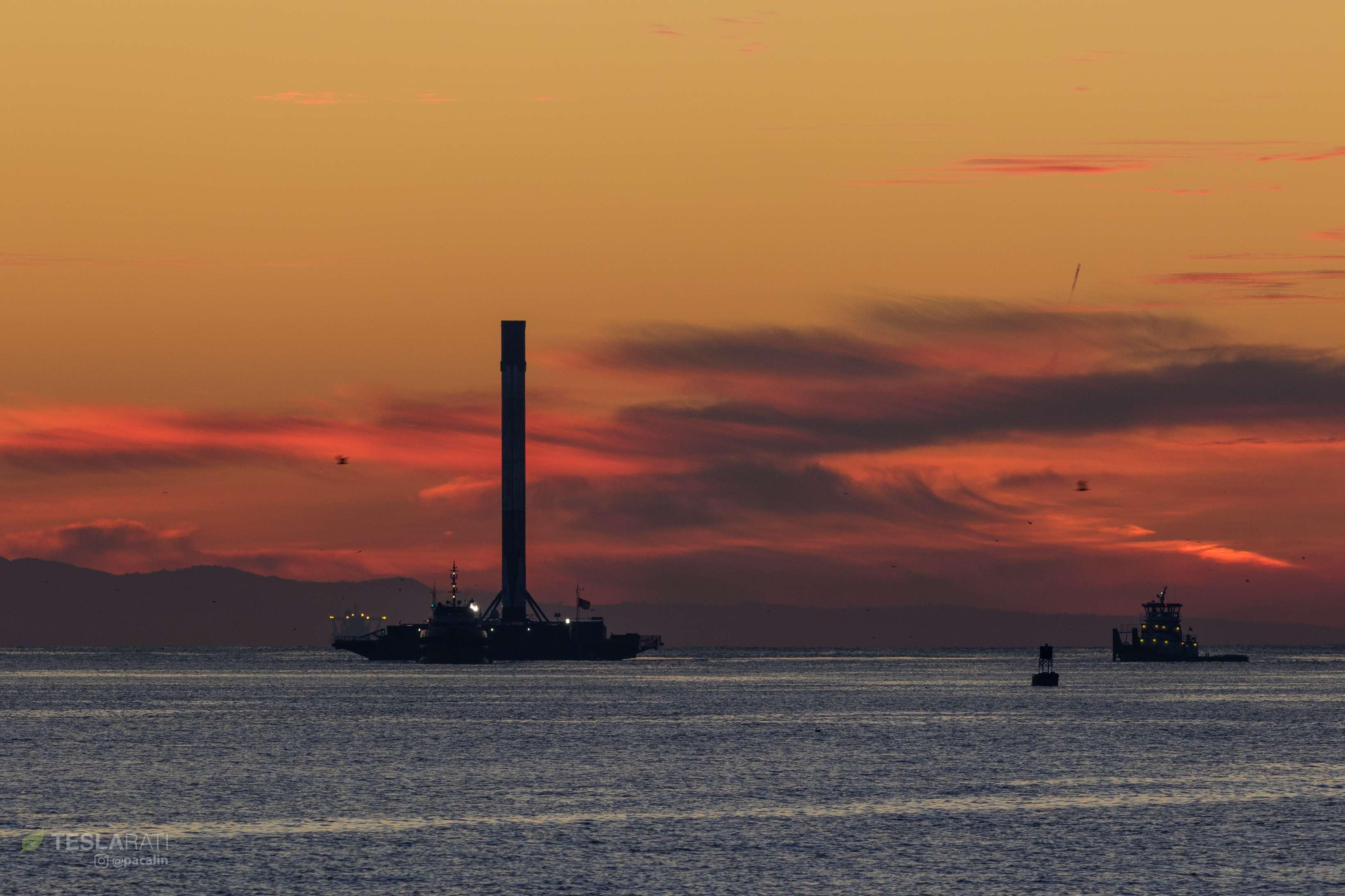 Falcon 9 B1049 Iridium-8 dawn return 011318 (Pauline Acalin) 3(c)