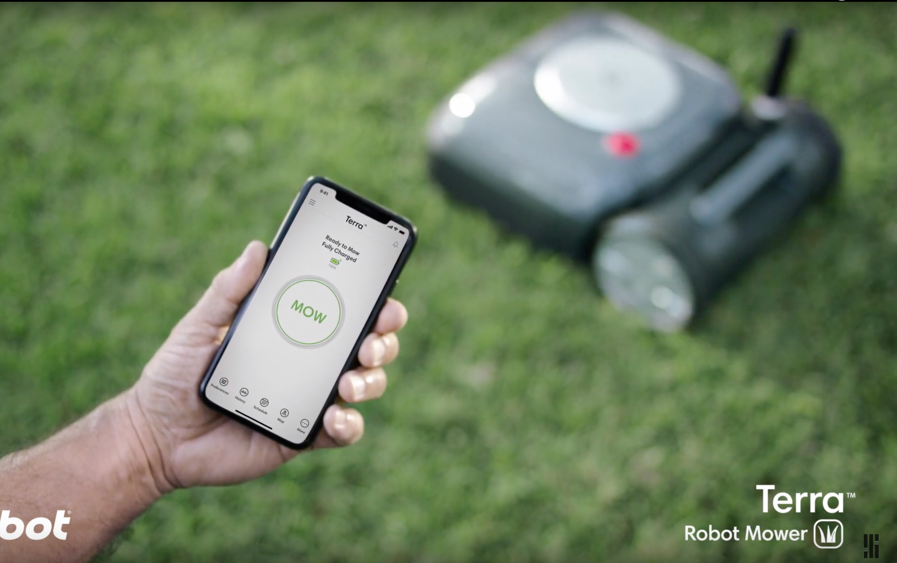 iRobot is going outdoors with an autonomous Roomba lawn