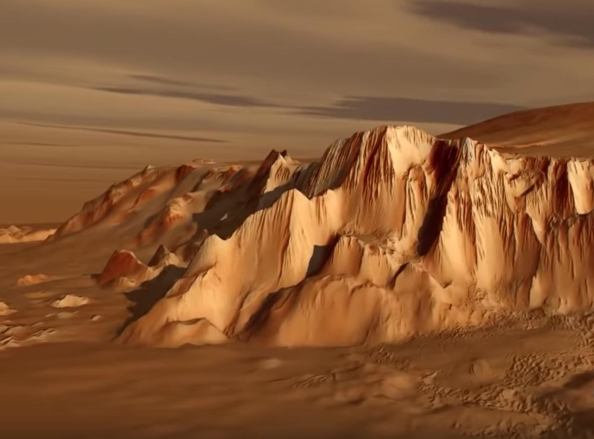mars-olympus-mons-volcano