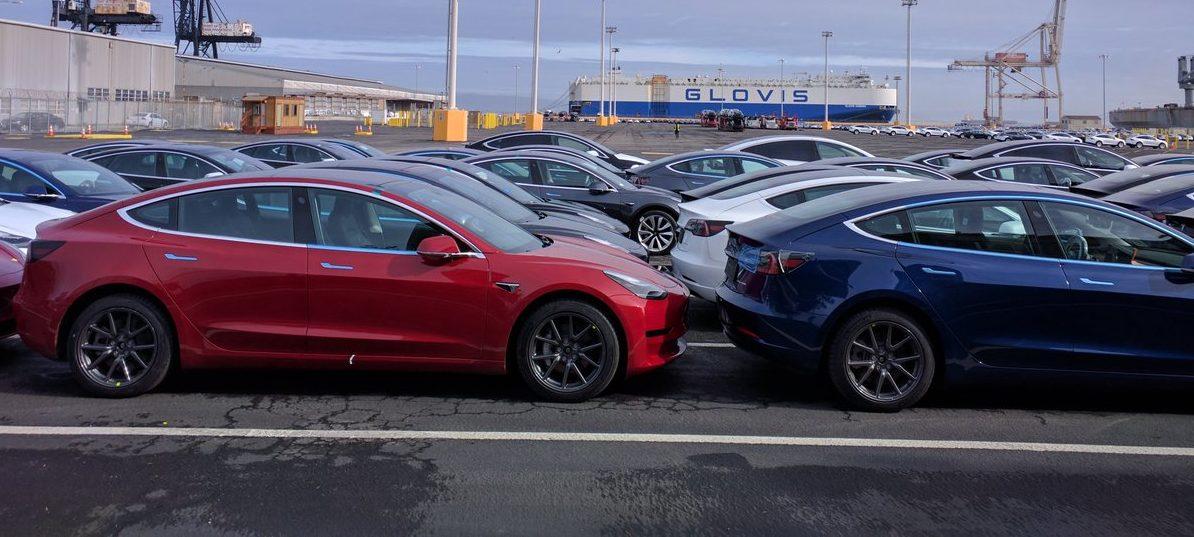 Resultado de imagem para Tesla Model 3 Belgium