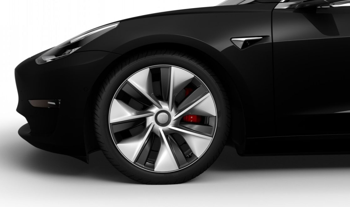 Tesla Model 3 Performance Gets 19 Inch Sports Aero Wheels In China