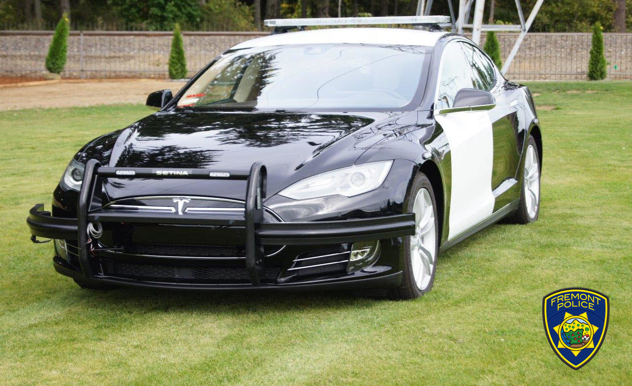 Tesla Model S Replaces Dodge Charger As Fremont Pd Latest Patrol Vehicle