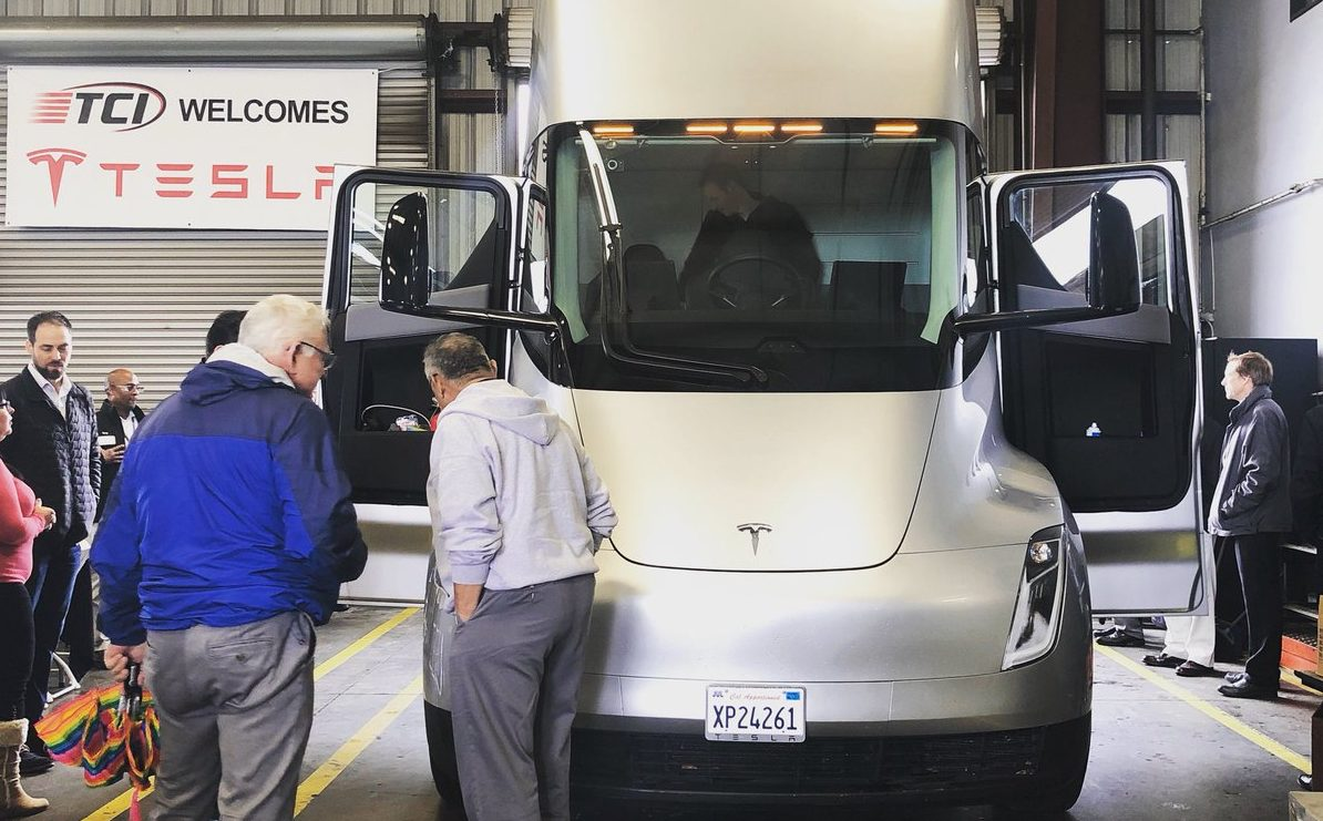 News					Tesla Semi gets closer to production amid test drive event for reservation holder