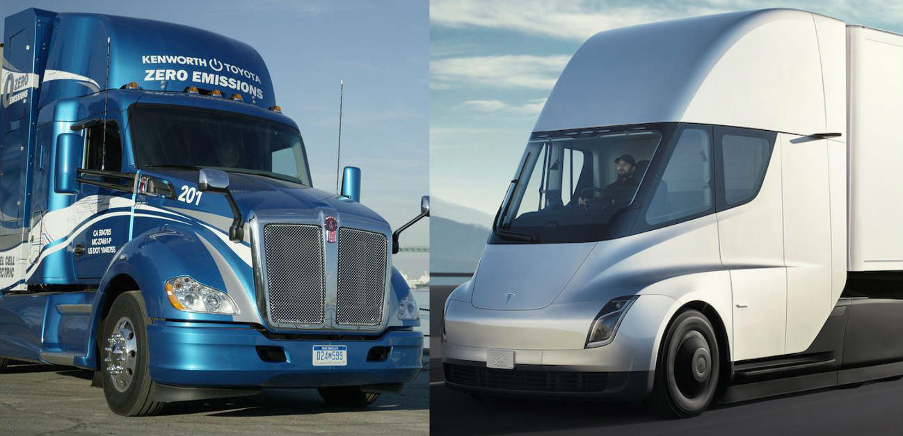 Tesla Semi Gets Peppy And Quiet Hydrogen Fuel Cell