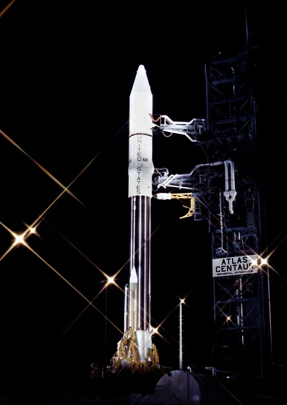 Atlas SLV3D Comstar variant preparation 1980s