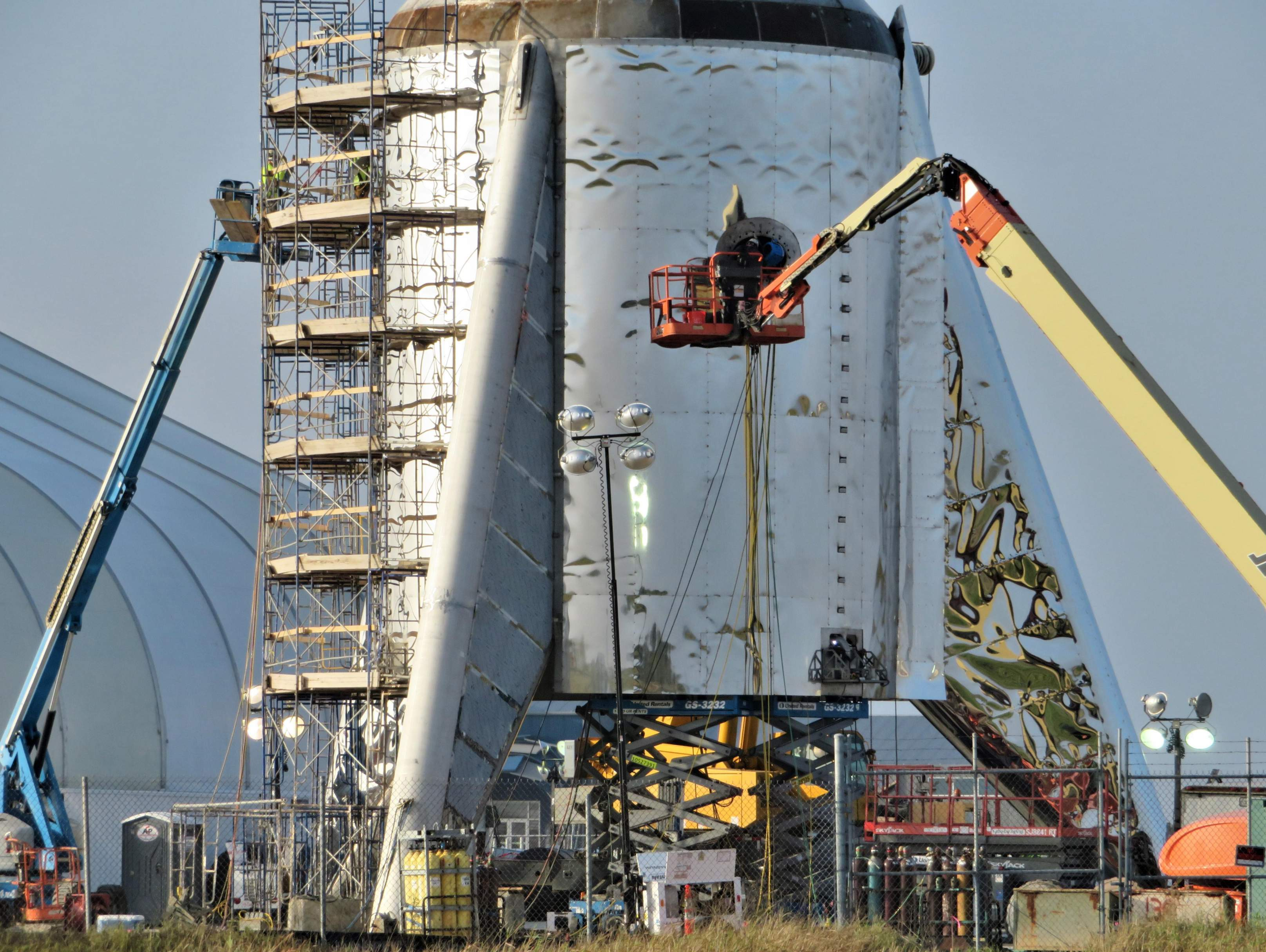 Boca Chica Starship progress 020519 (NASASpaceflight – bocachicagal) 1 (c)