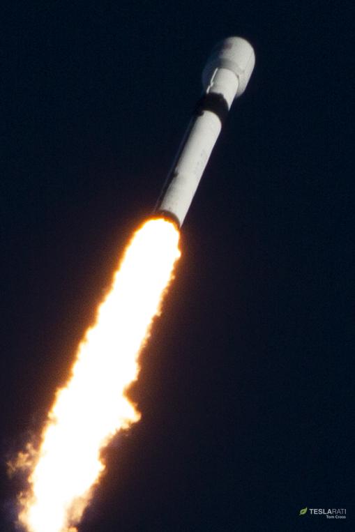 Falcon 9 B1054 GPS III SV01 launch (Tom Cross) 2