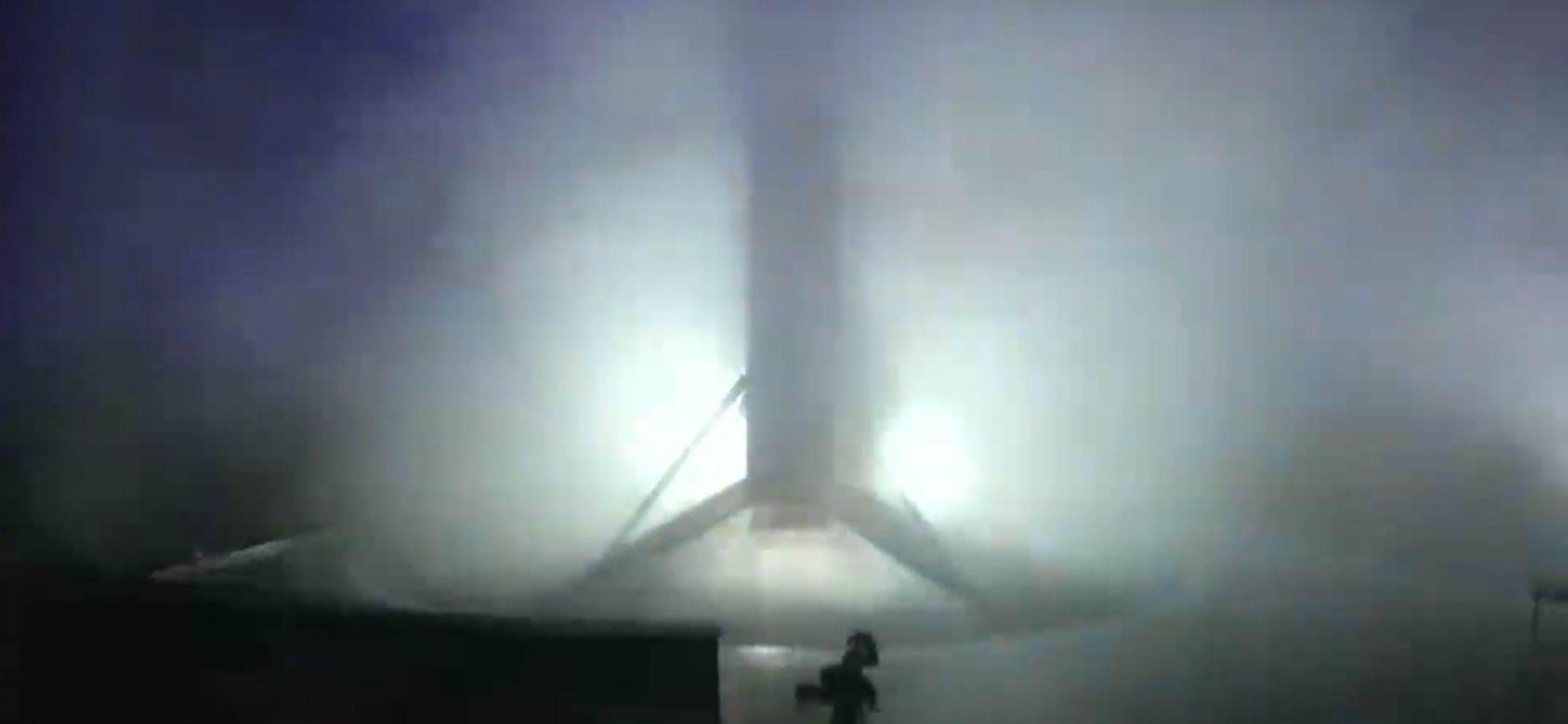 Falcon 9 b1048 PSN-6 webcast (SpaceX) landing 1