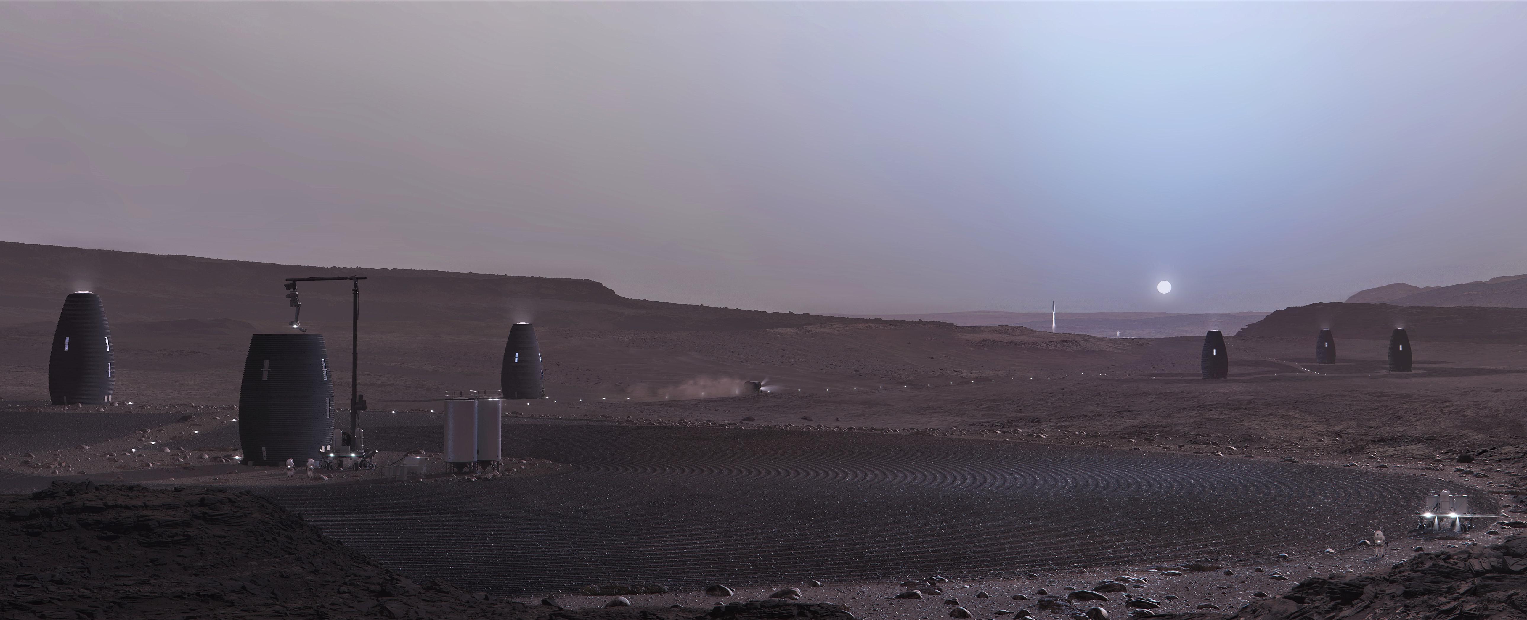 MARSHA Mars habitat colony (AI Space Factory) 1 crop 3