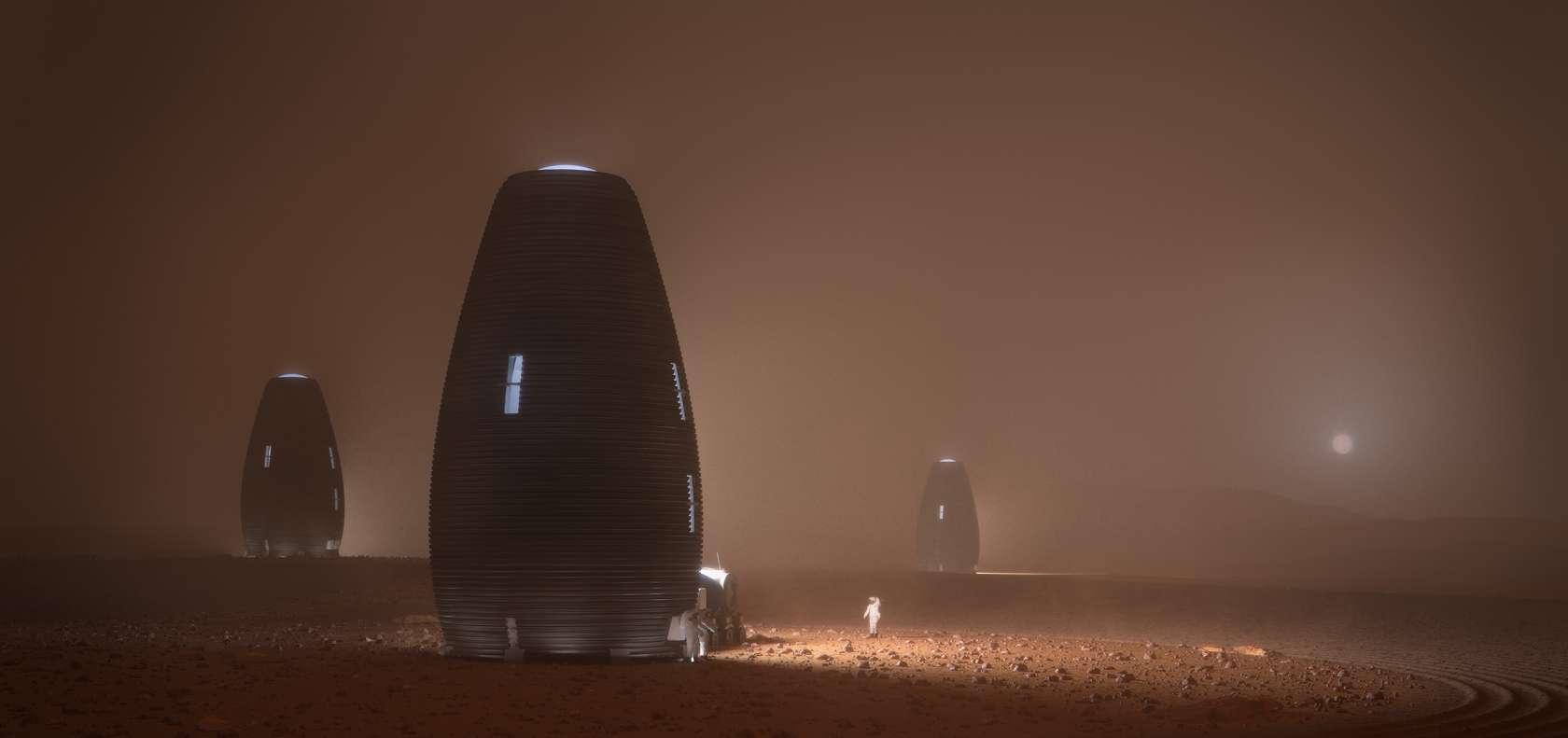 MARSHA Mars habitat colony (AI Space Factory) 6 (c)