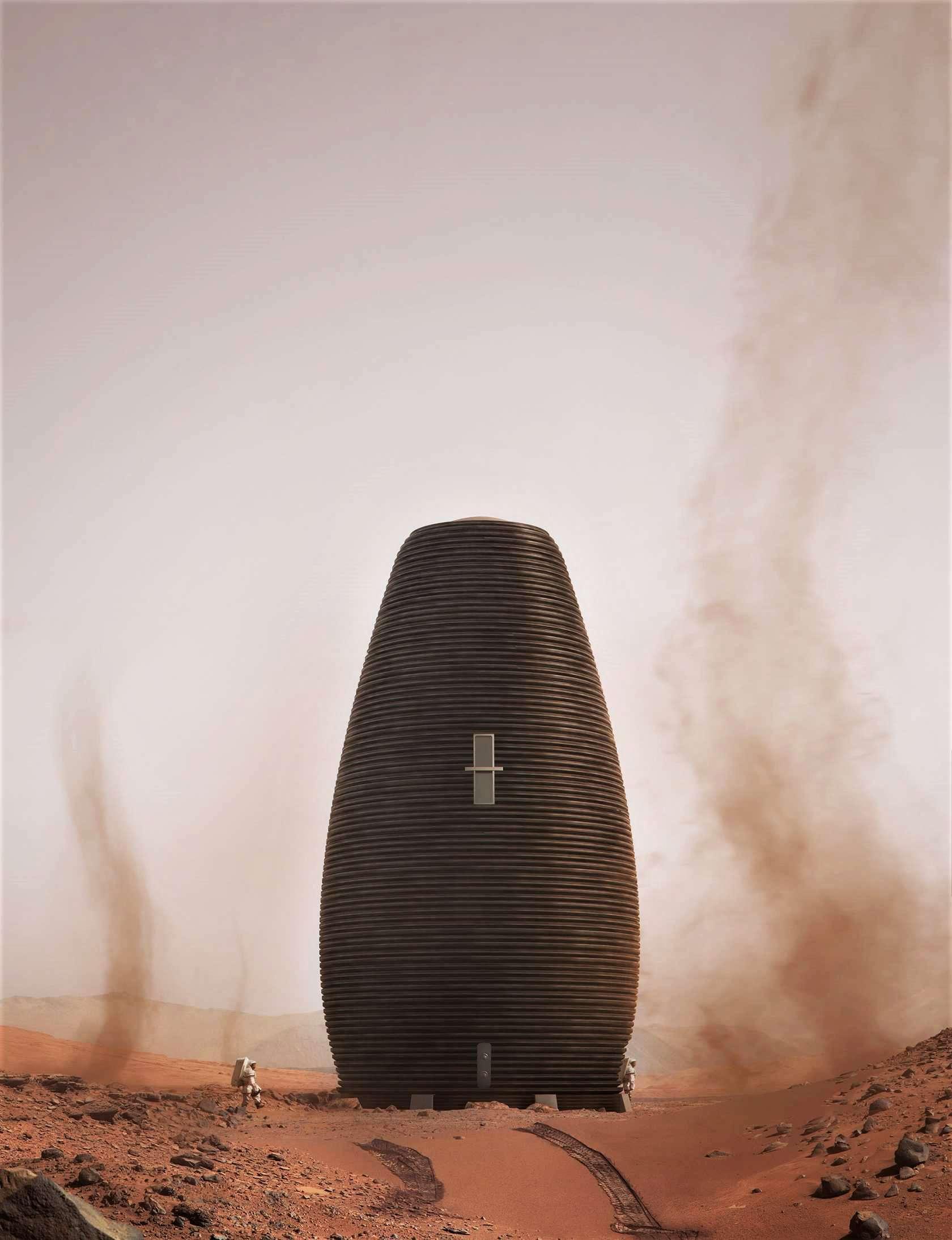 MARSHA Mars habitat colony (AI Space Factory) 8 (c)