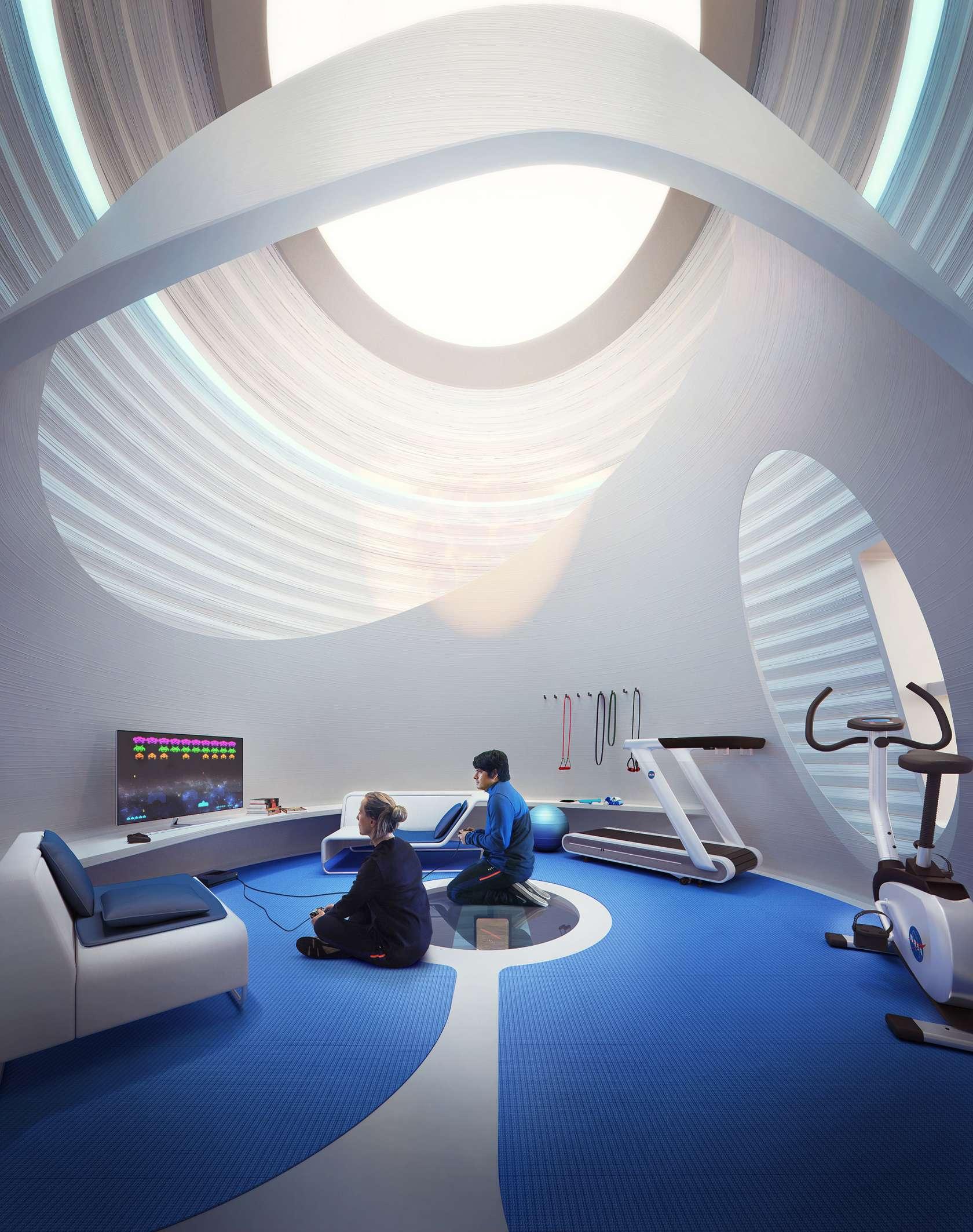 MARSHA Mars habitat colony (AI Space Factory) 9 (c)