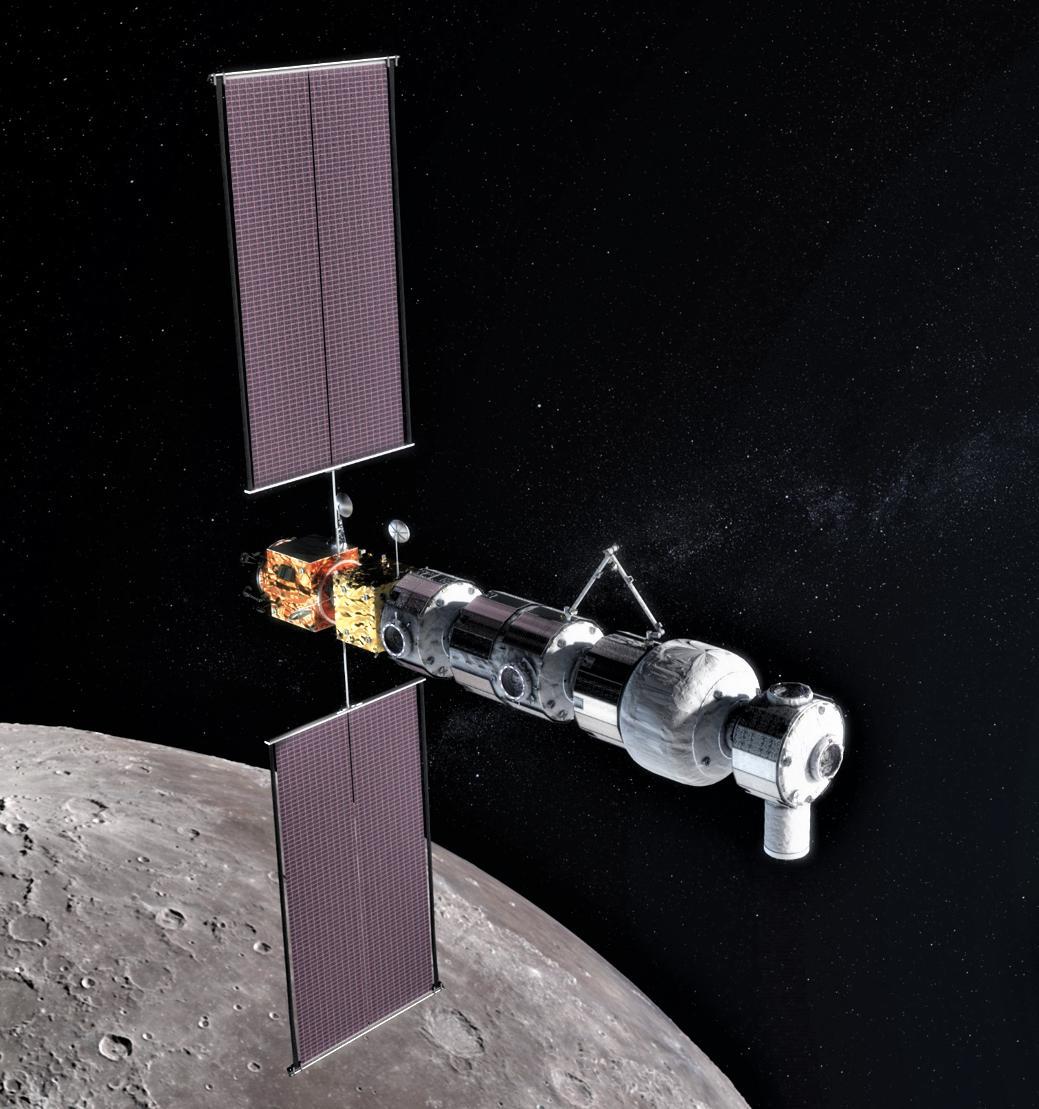 NASA gateway 2019 render