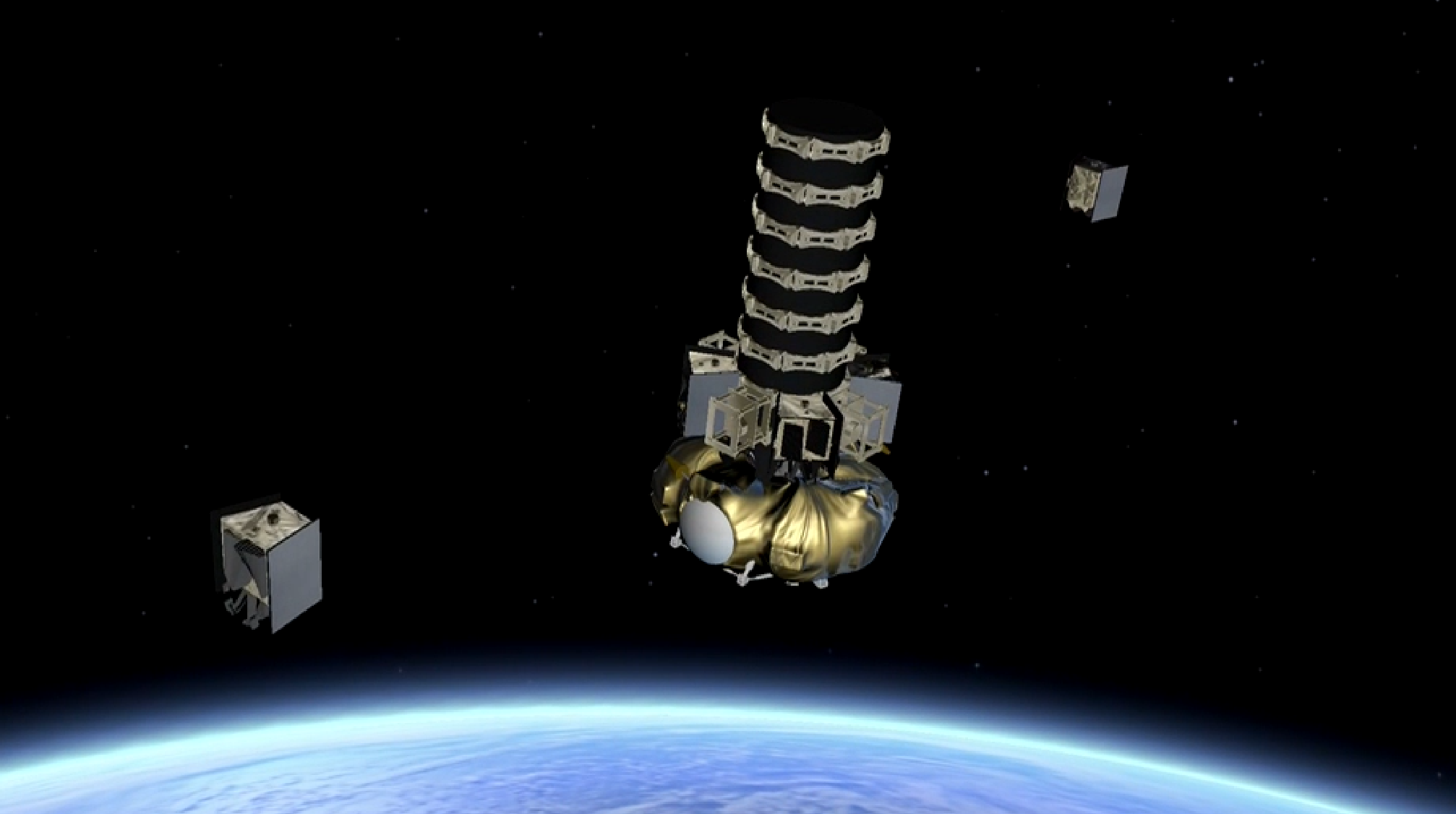 OneWeb SV01-02 deployment (Arianespace) 1