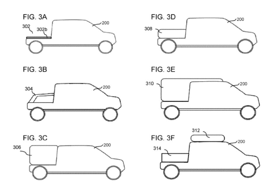 1bf2a48a Rivian's modular chart from its patent figures. | Credit: Rivian/USPTO