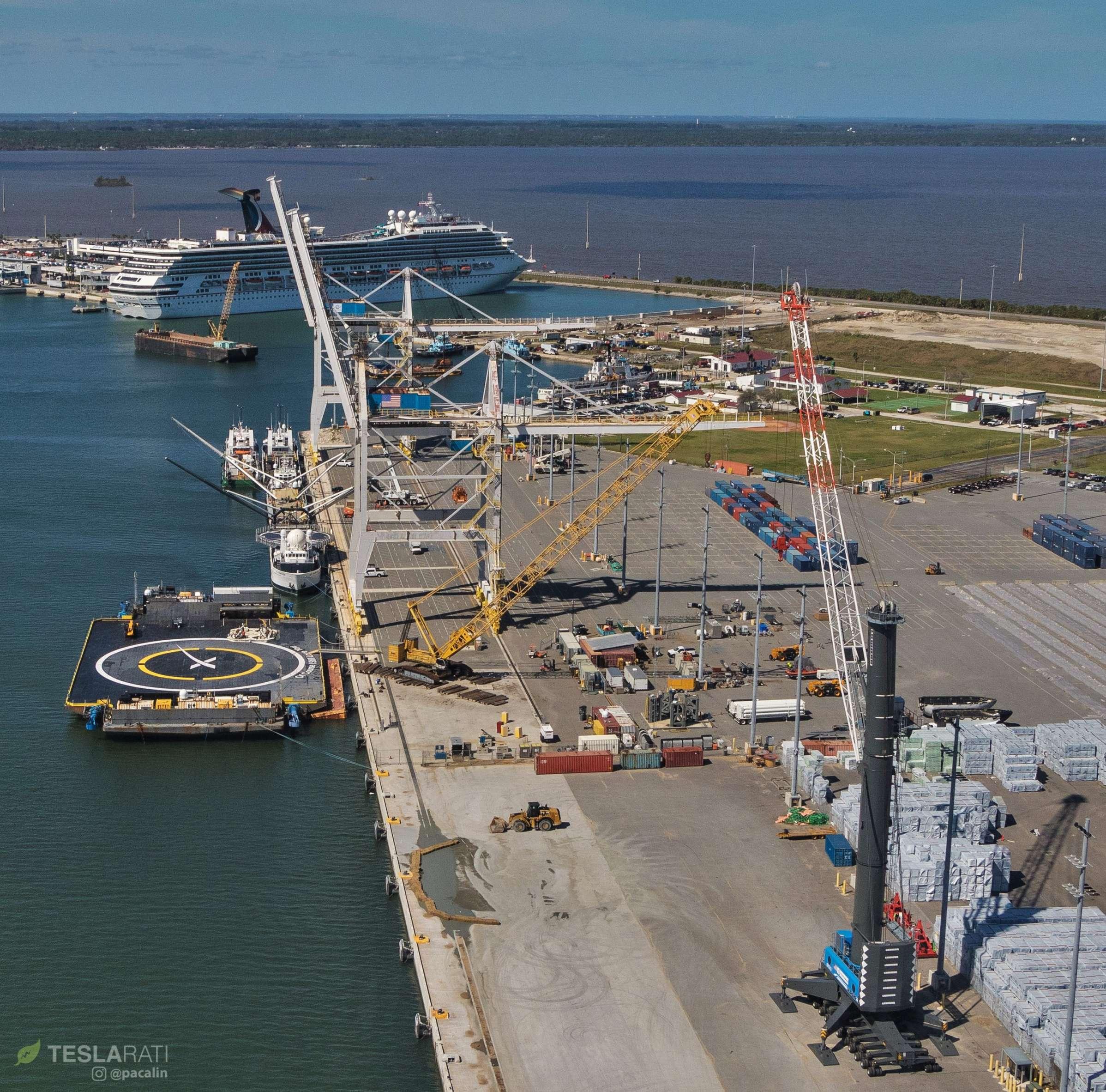 SpaceX East Coast fleet Mr Steven OCISLY Searcher 021419 (Pauline Acalin) 3 (c)