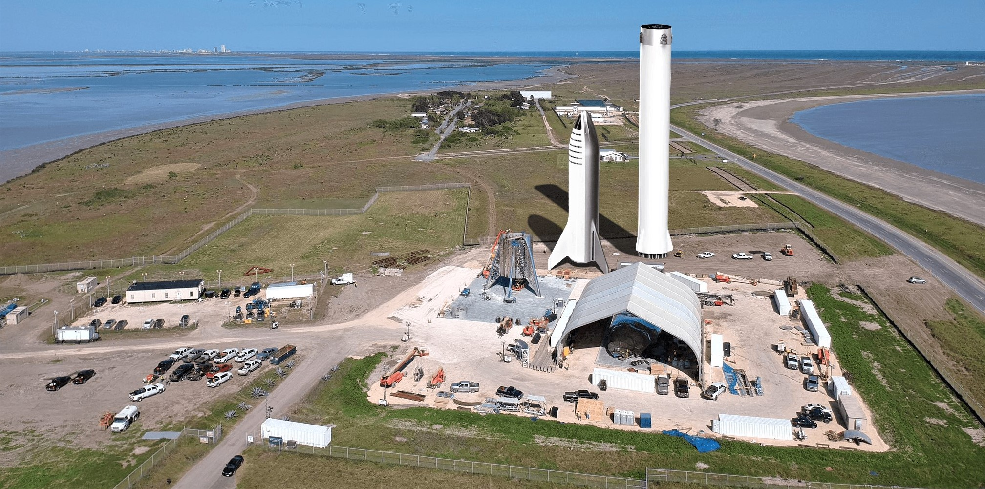 Spacex Will Build And Launch Starship Super Heavy In Texas