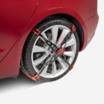 Tesla adds Model 3 snow chains for 20″ Performance wheels to online store
