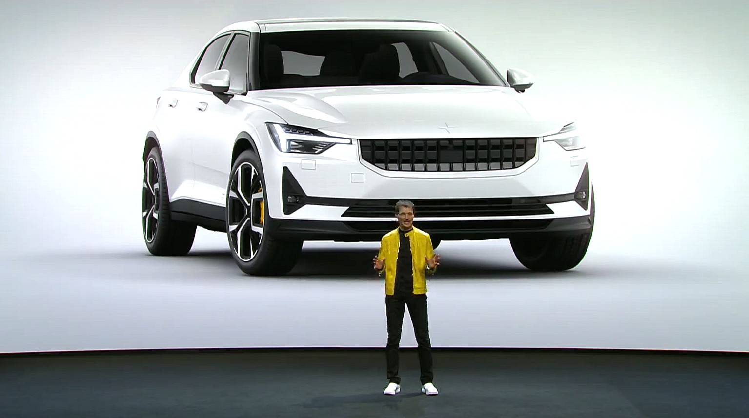 Volvo's Polestar 2 is a dual motor, 275-mile, 78 kWh Tesla Model 3 competitor