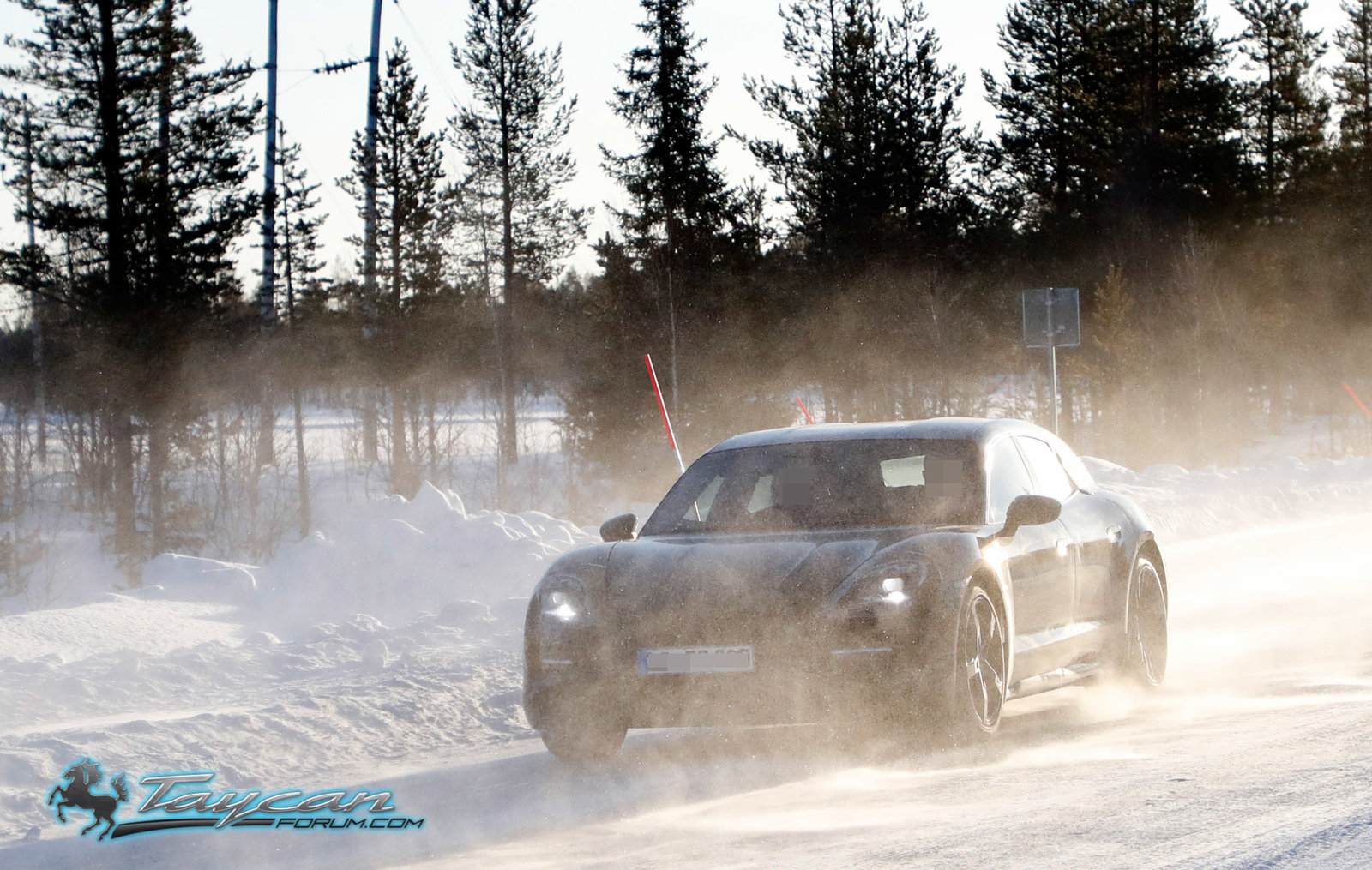 b76938bb82b Porsche s more refined Taycan Cross Turismo prototypes spotted in ...