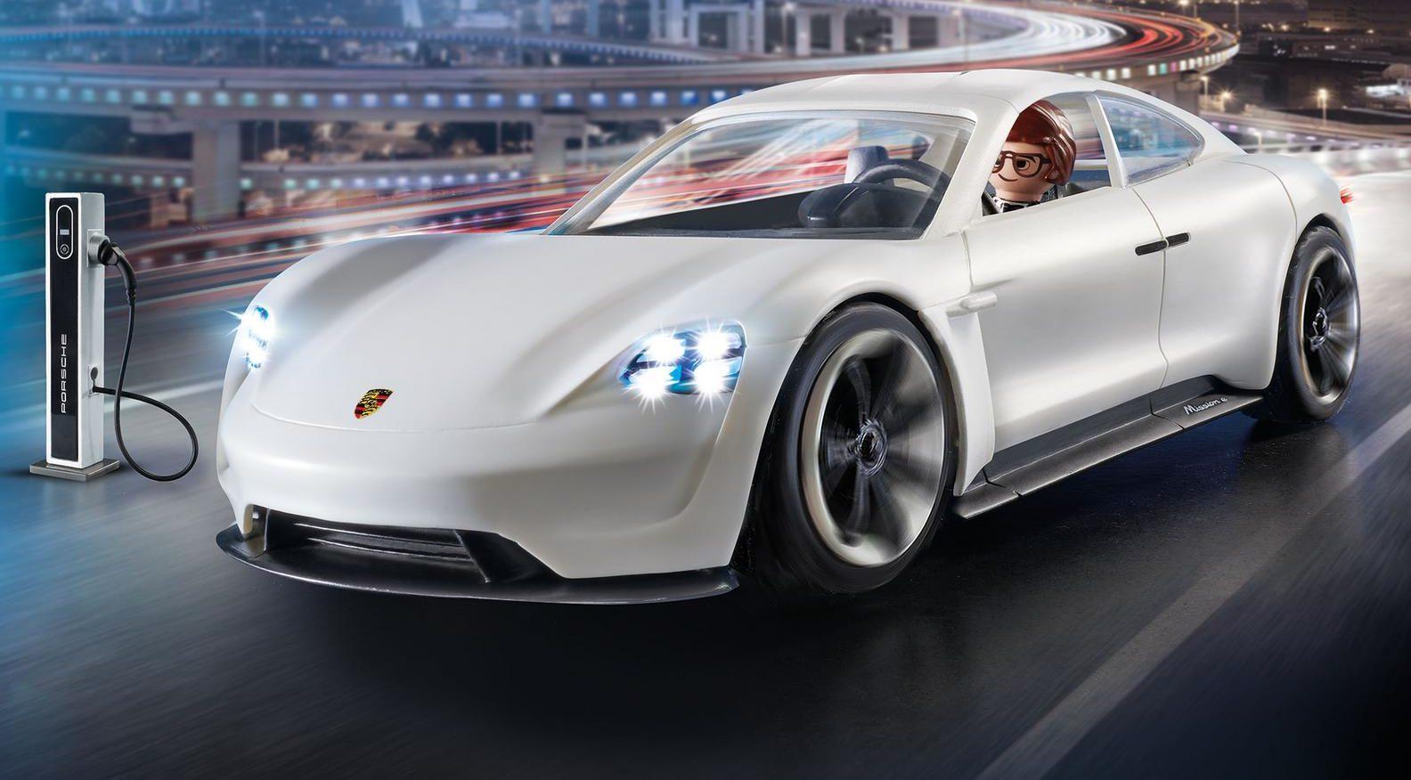 Tesla Model S Interior >> Porsche Taycan fans can get a mini version through toymaker Playmobil