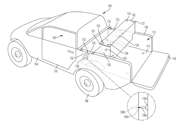 Rivian Patent Reveals R1t Auxiliary Battery That Pushes Range Beyond
