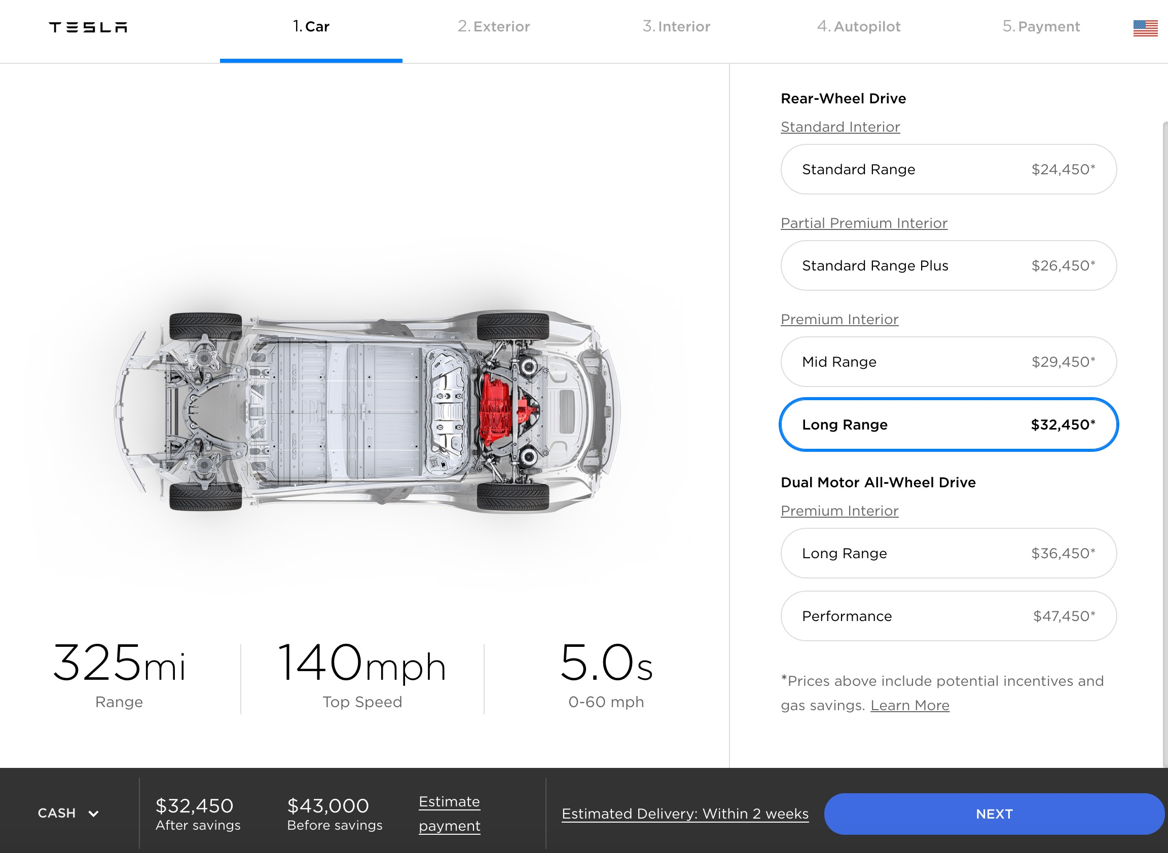 68172cf5 This will likely be a notable perk for the Model 3's first adopters, as the  Long Range RWD was the only variant available for the vehicle during the  initial ...