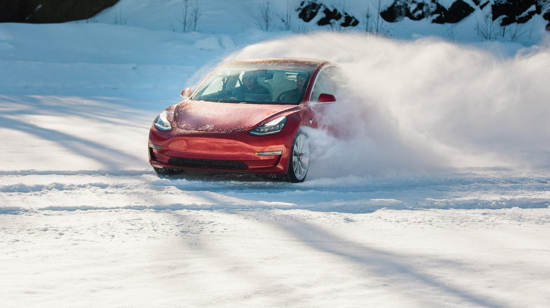 Tesla Model 3 impresses former rally champion after high-speed testing