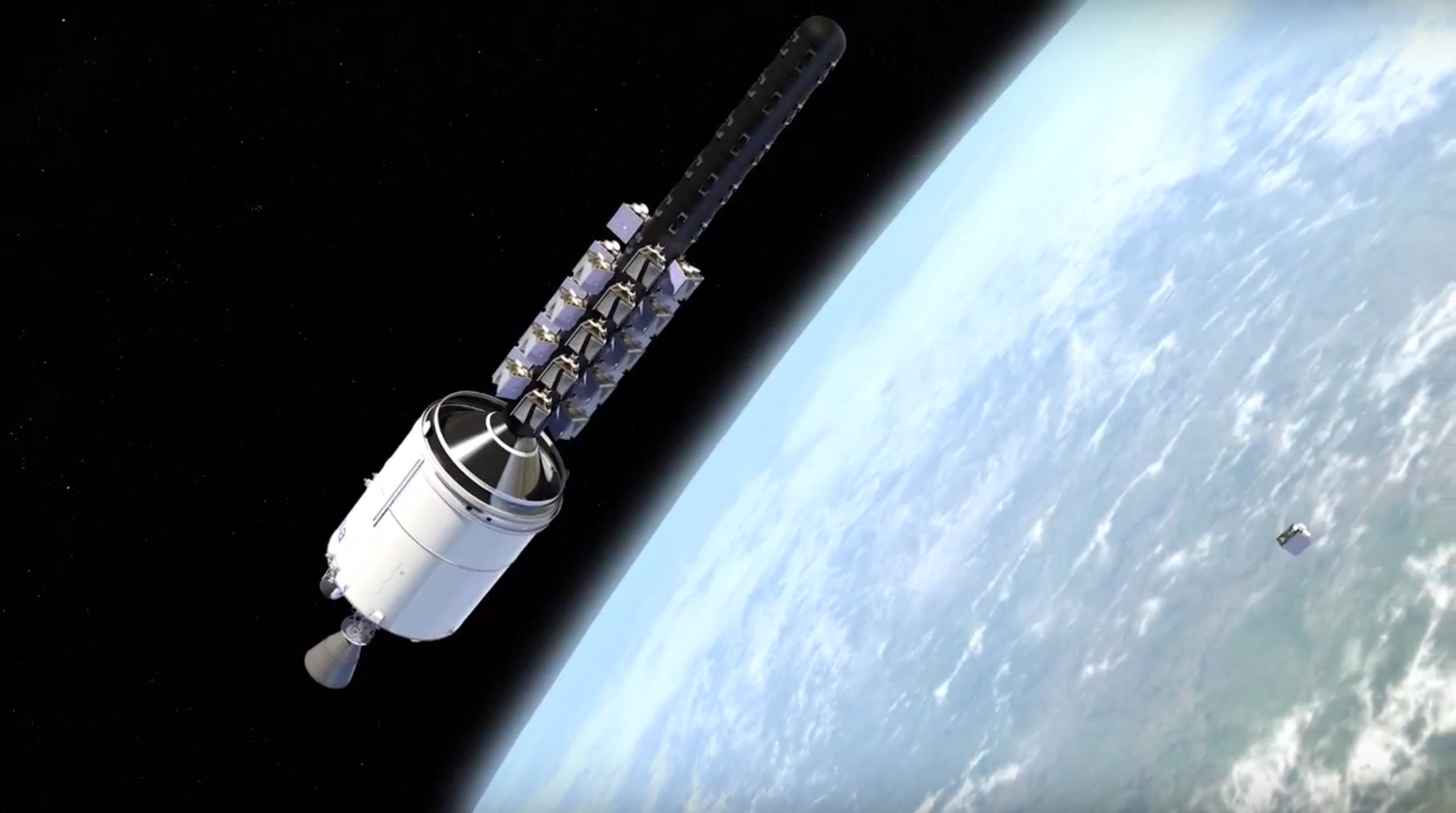Ariane 6 OneWeb constellation dispenser (Arianespace) 11