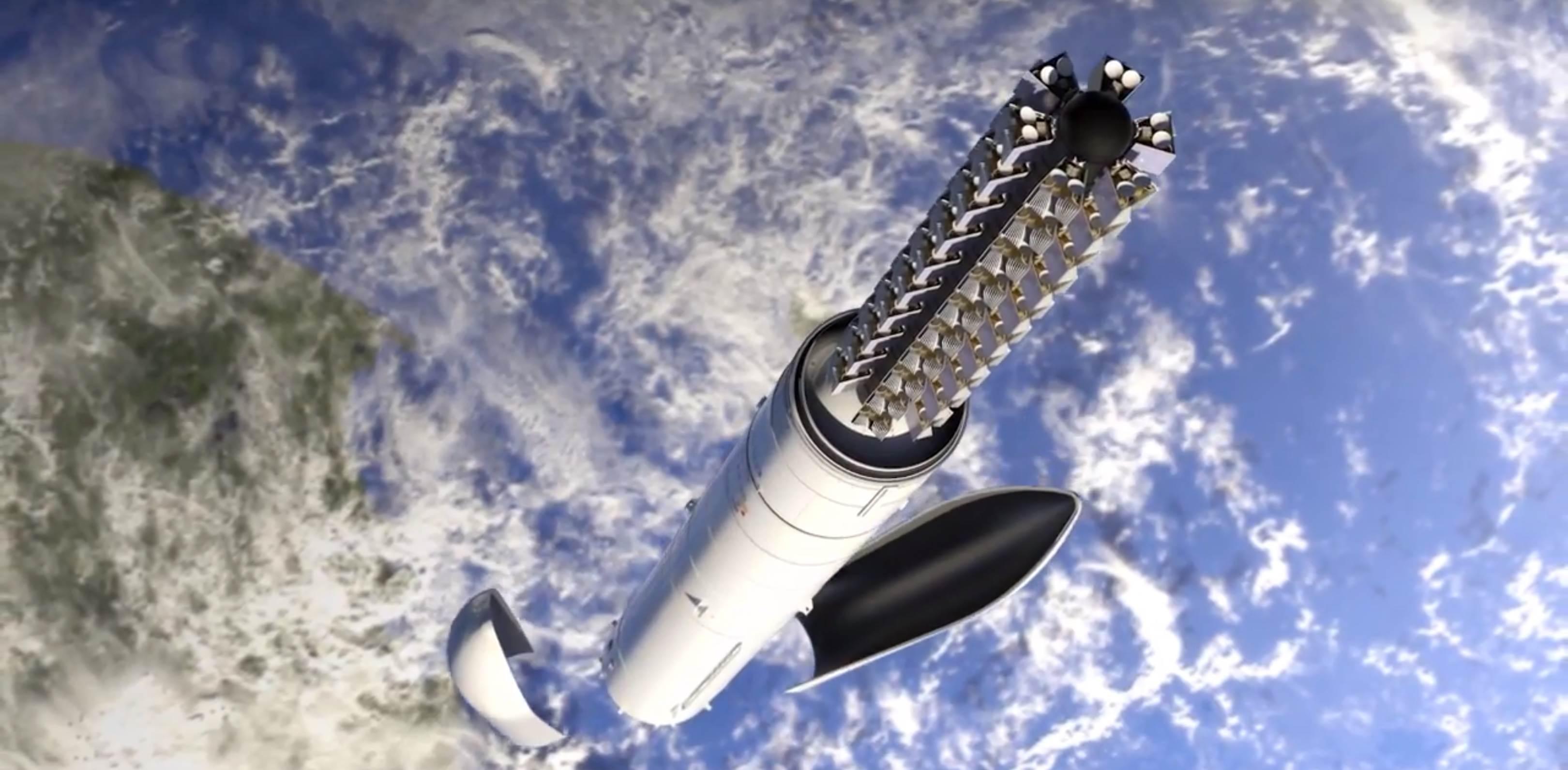Ariane 6 OneWeb constellation dispenser (Arianespace) 2