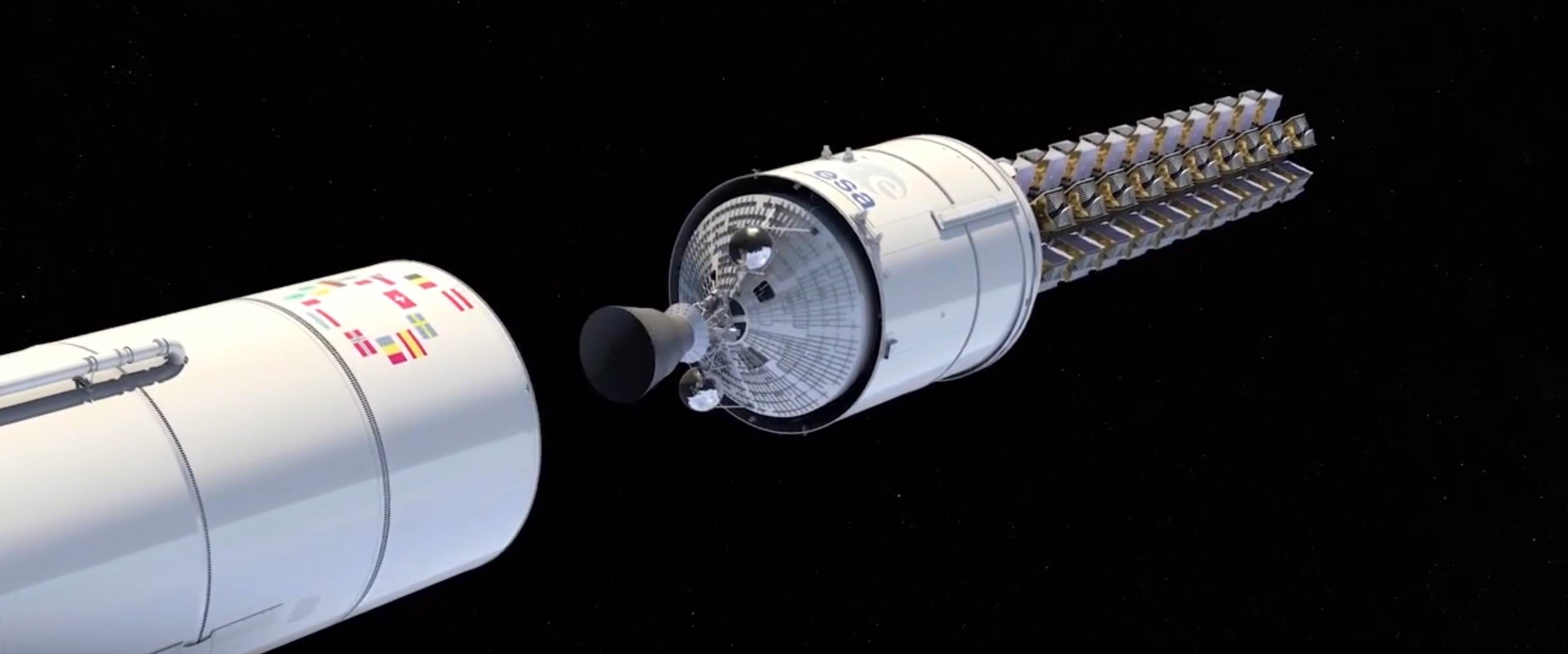 Ariane 6 OneWeb constellation dispenser (Arianespace) 3