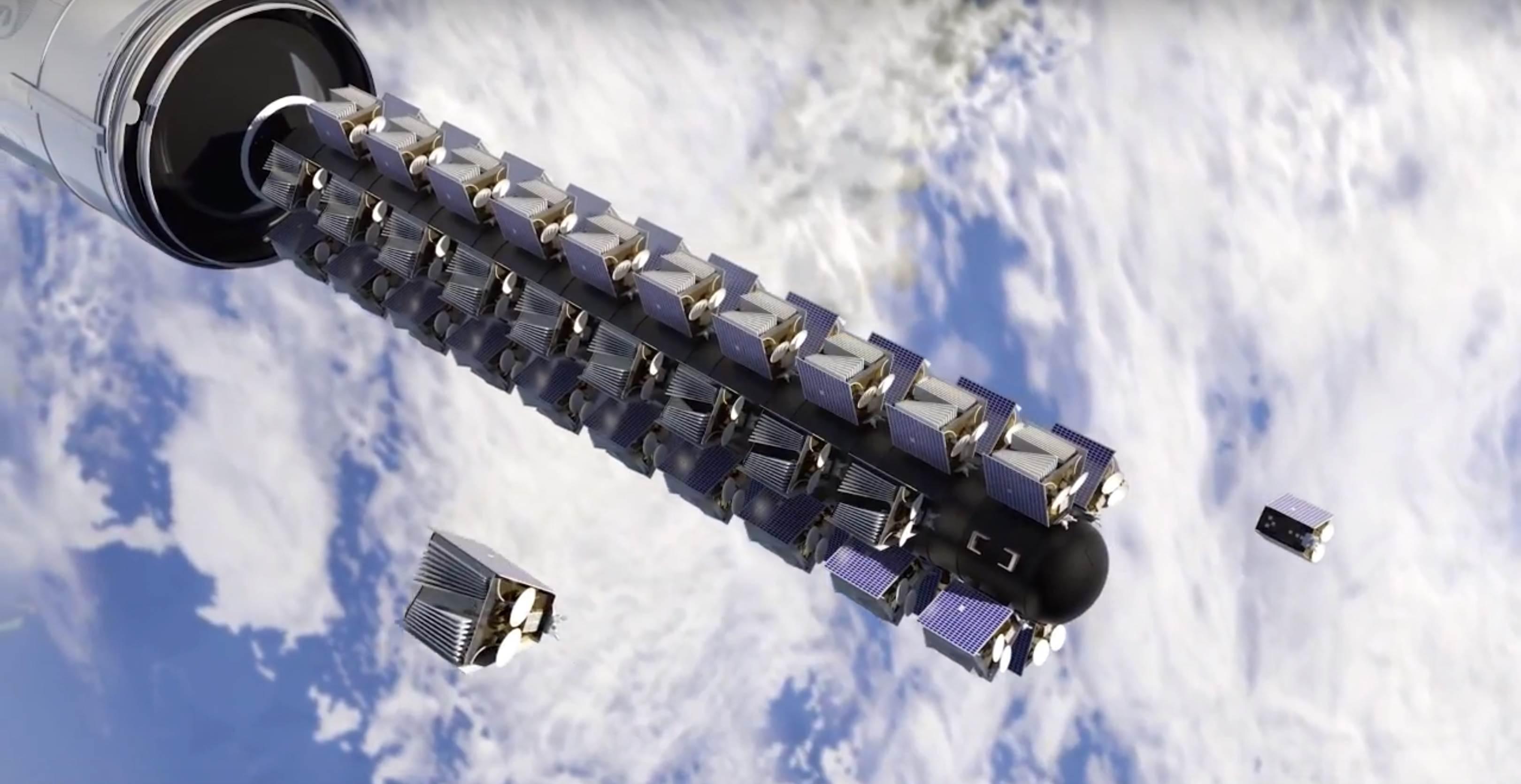 Ariane 6 OneWeb constellation dispenser (Arianespace) 6