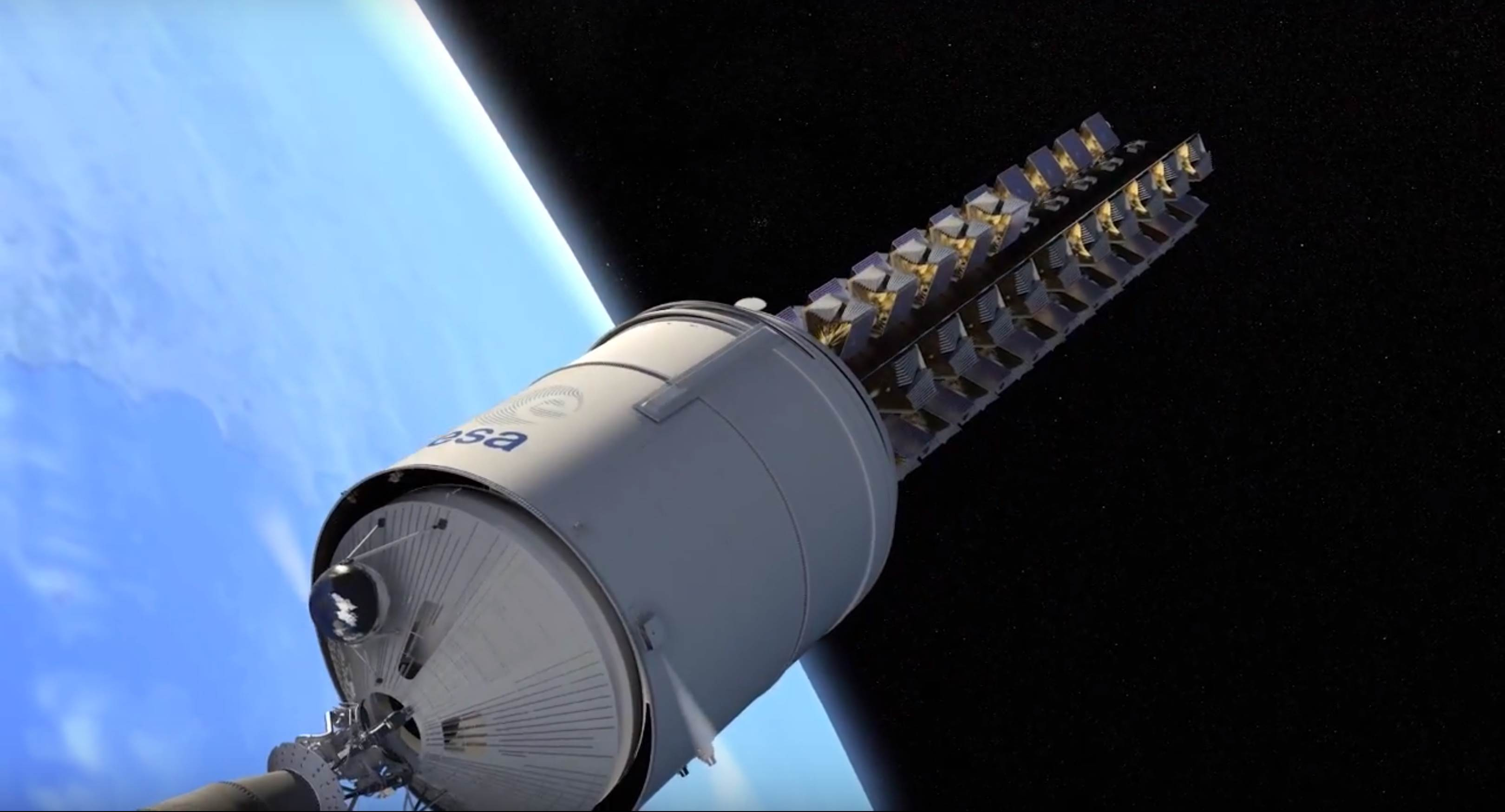 Ariane 6 OneWeb constellation dispenser (Arianespace) 8