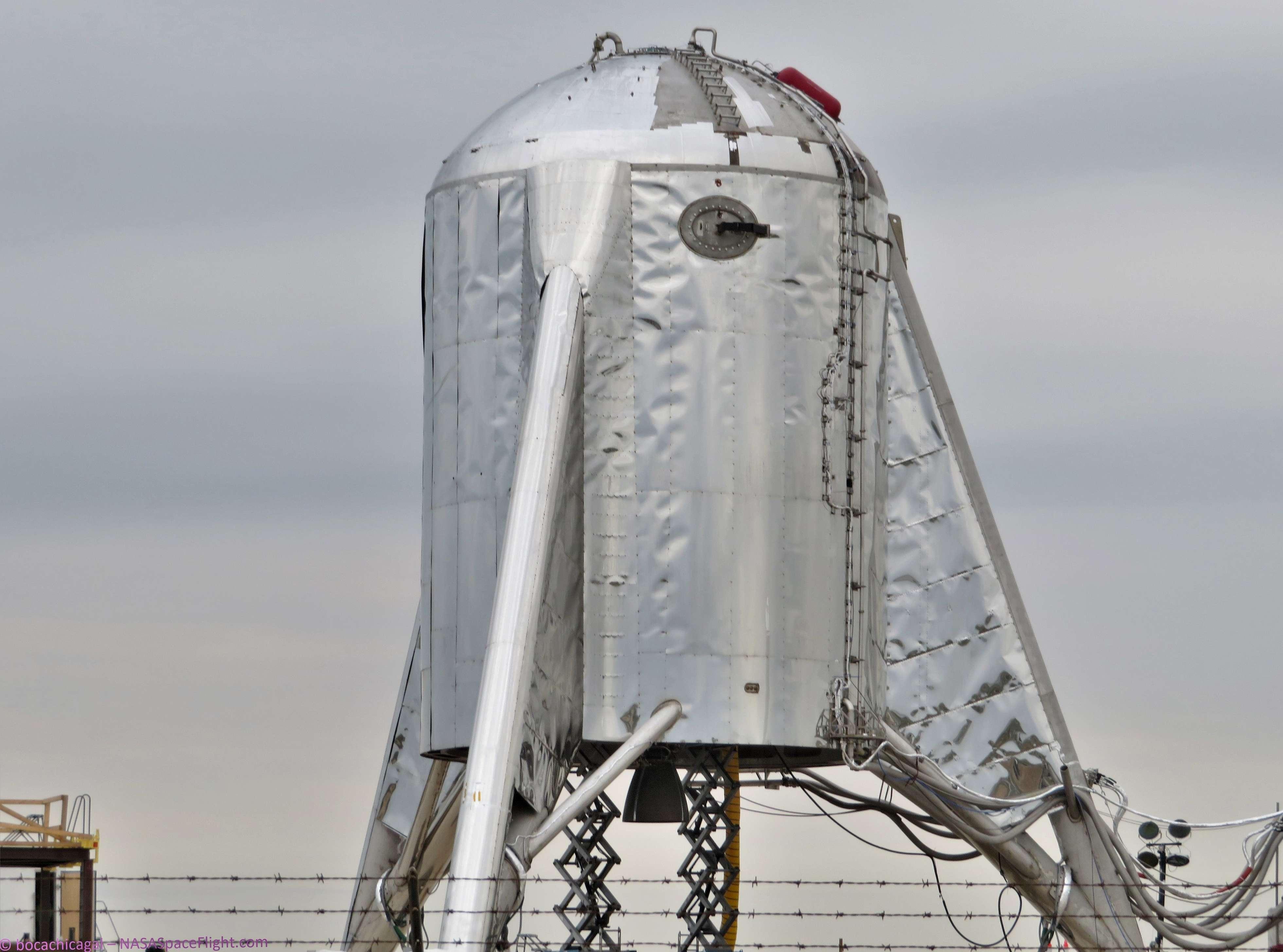 Boca Chica Starhopper progress 032619 (NASASpaceflight – bocachicagal) 1 (c)
