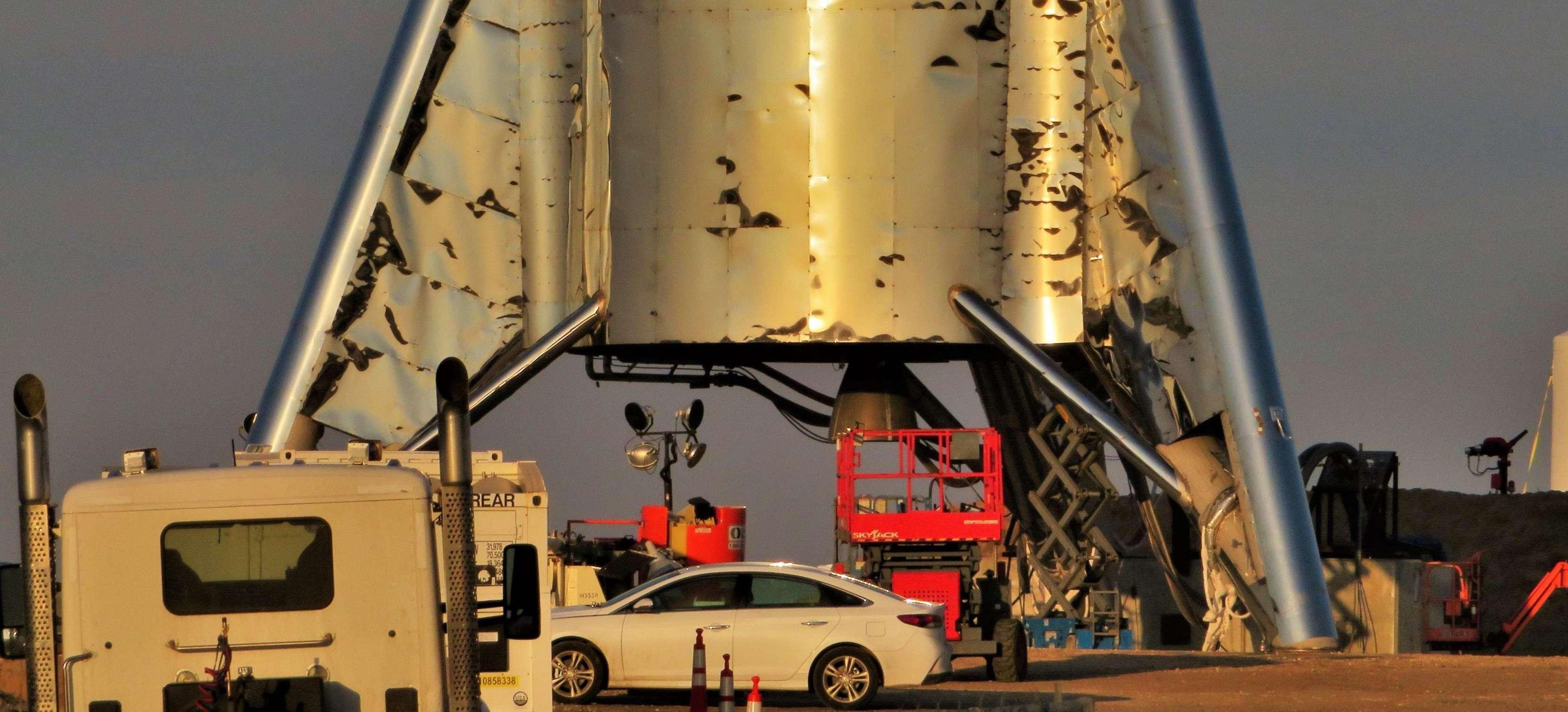 Boca Chica Starhopper progress 032719 (NASASpaceflight – bocachicagal) 1 crop 2 (c)
