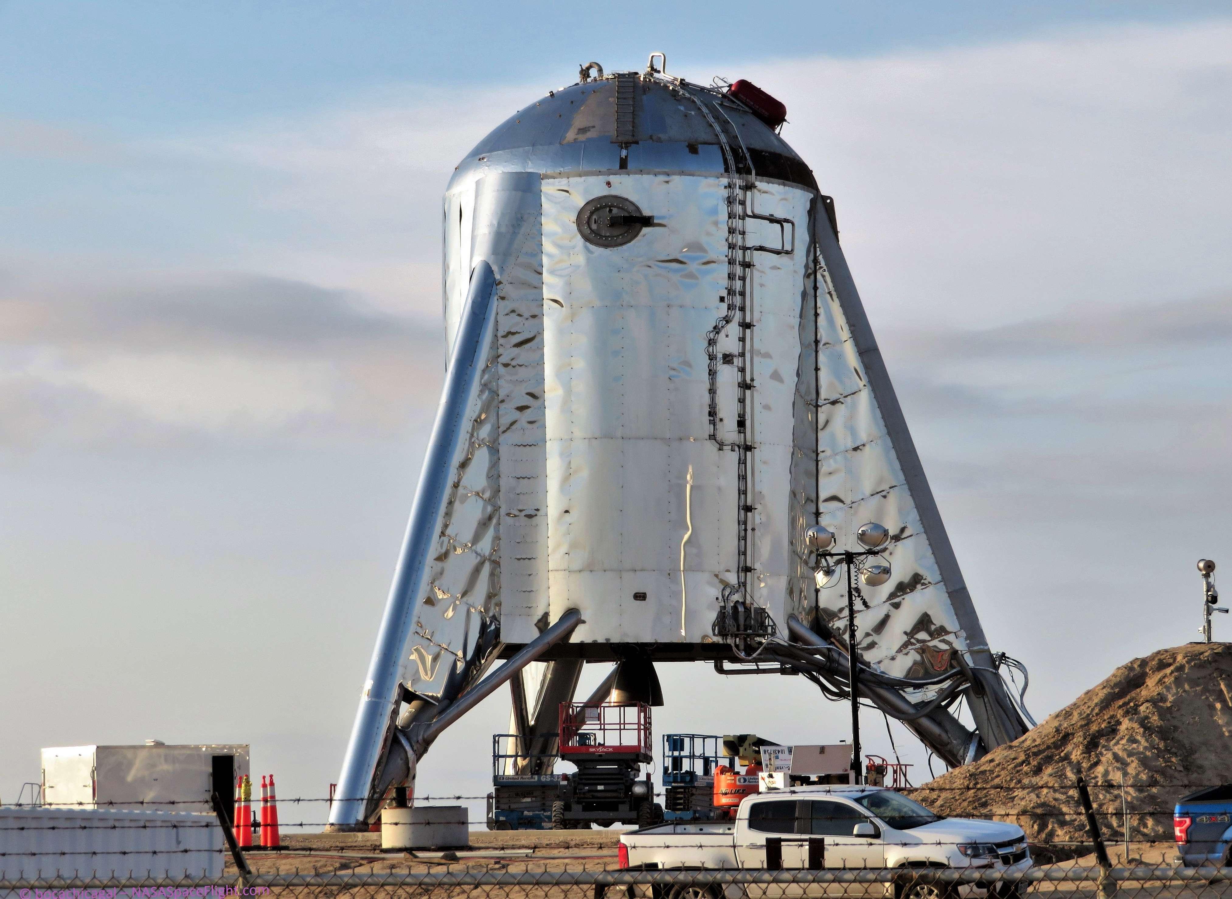 Boca Chica Starhopper progress 032819 (NASASpaceflight – bocachicagal) 1 (c)