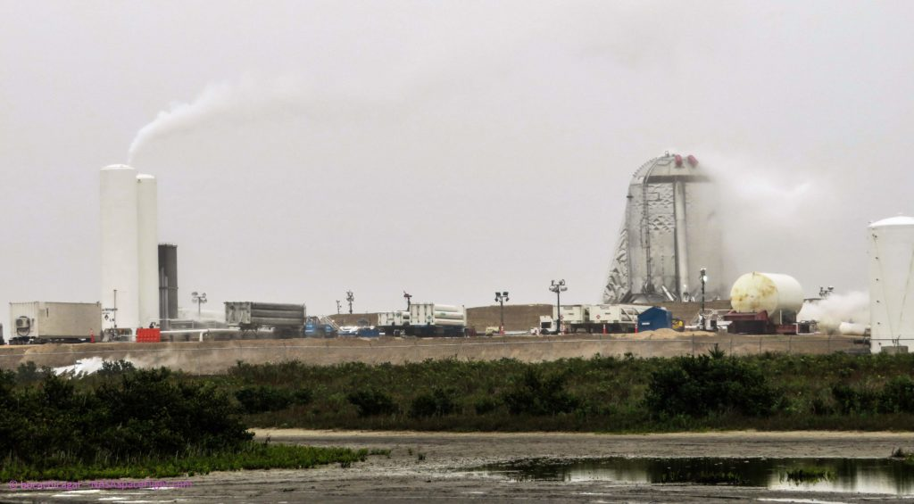 big sale bcfdb 2706f ... SpaceX began testing the first (suborbital) Starship prototype around  March 14th, likely involving loading the vehicle s tanks with liquid  nitrogen to ...