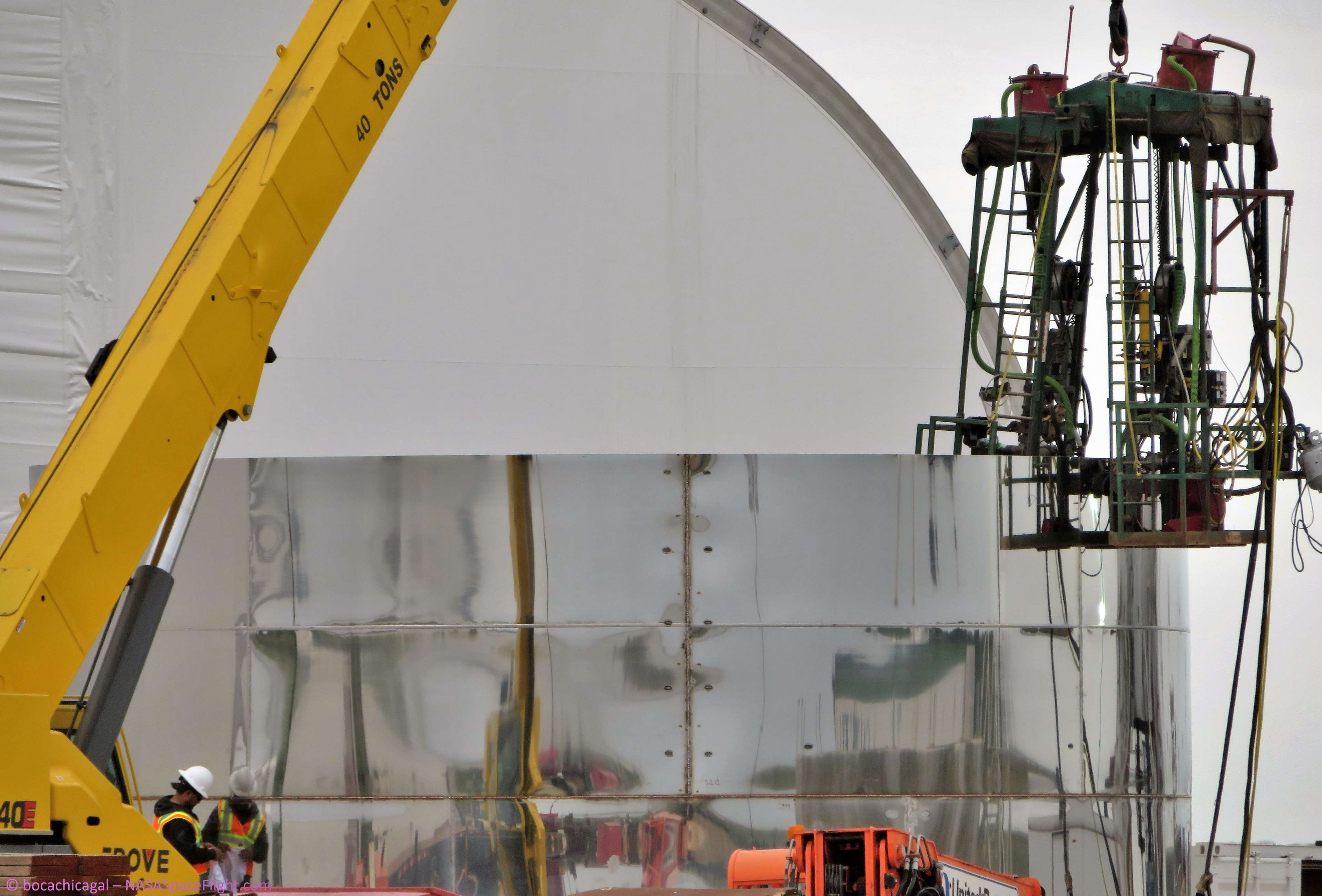 Boca Chica Starship progress 022419 (NASASpaceflight – bocachicagal) 4 (c)