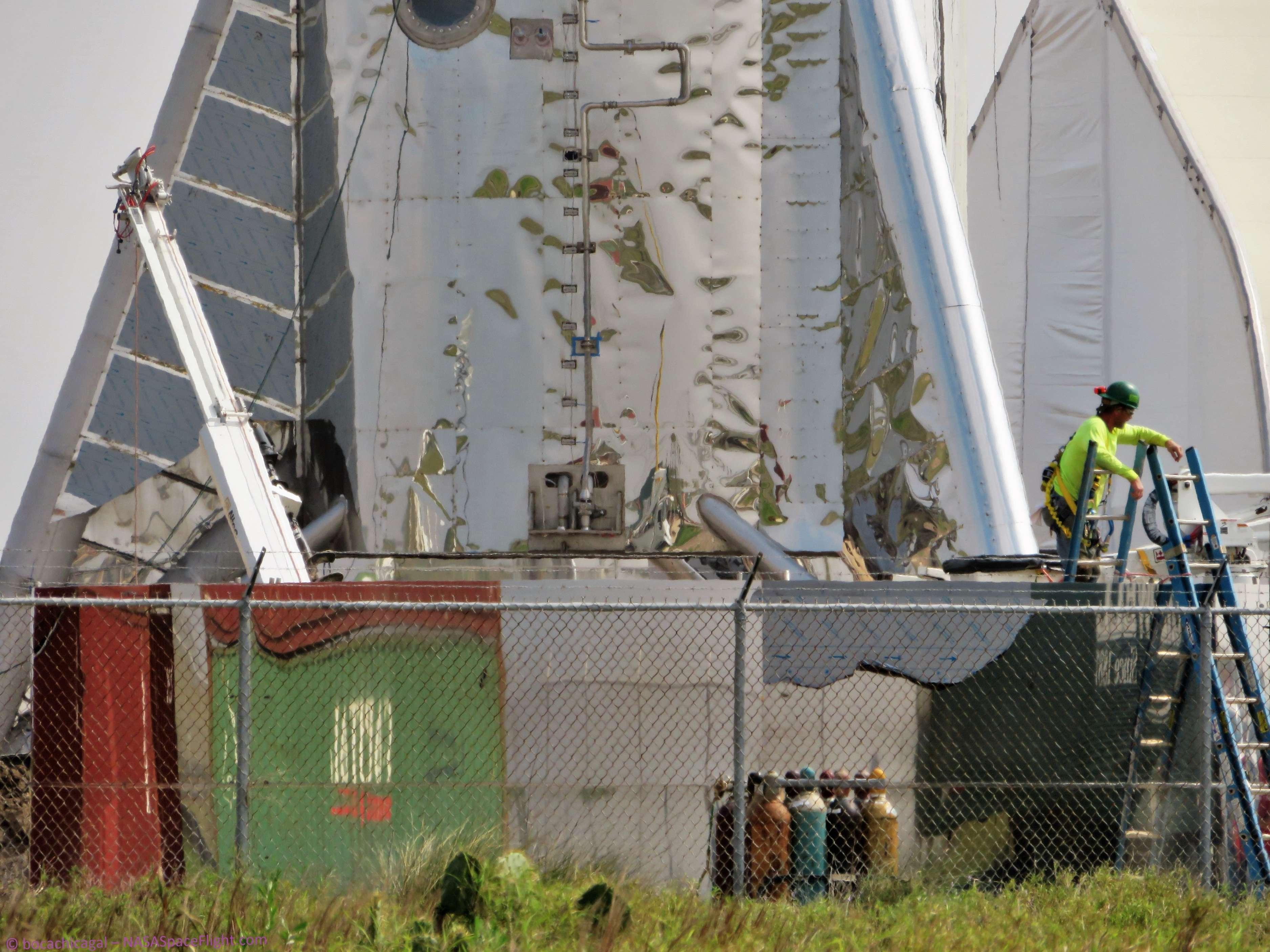 Boca Chica Starship progress 030119 (NASASpaceflight – bocachicagal) 2 (c)