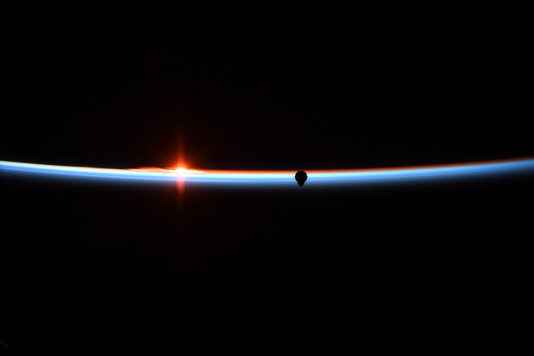 Crew Dragon DM-1 ISS arrival 030319 (Anne McClain) 1