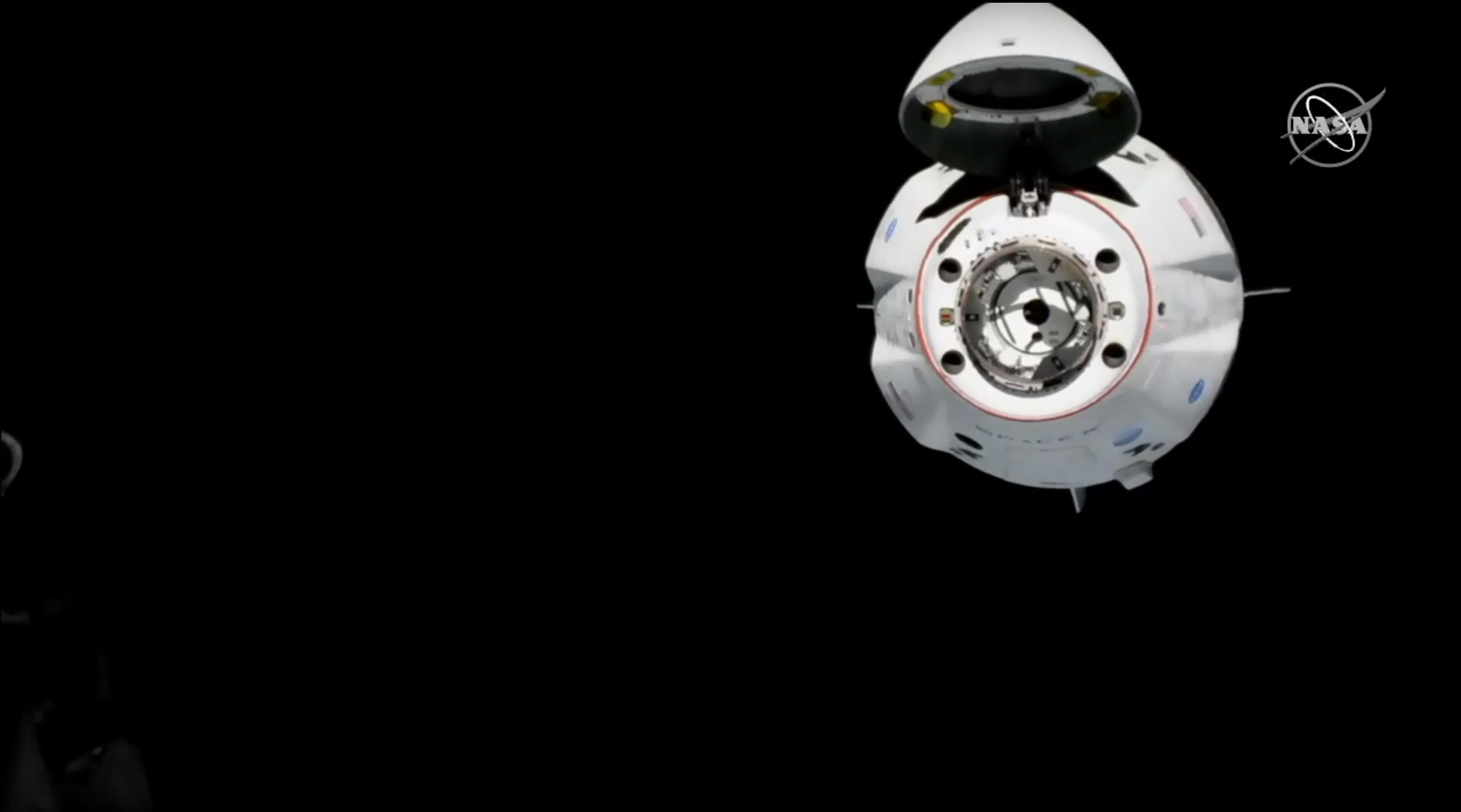 Crew Dragon DM-1 ISS arrival 030319 (NASA) 3