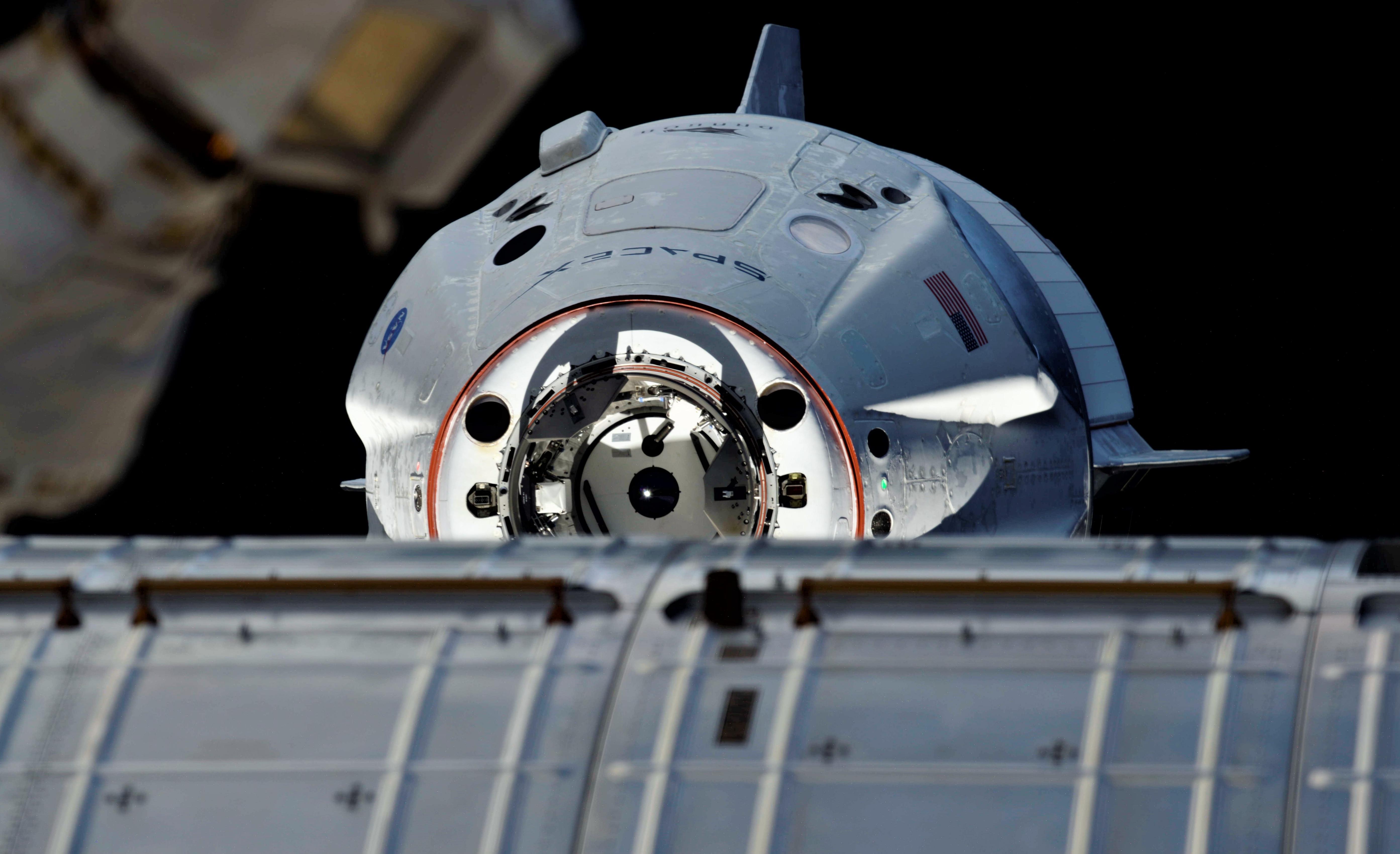 Crew Dragon DM-1 ISS arrival 030319 (Oleg Kononenko) 2 (c)